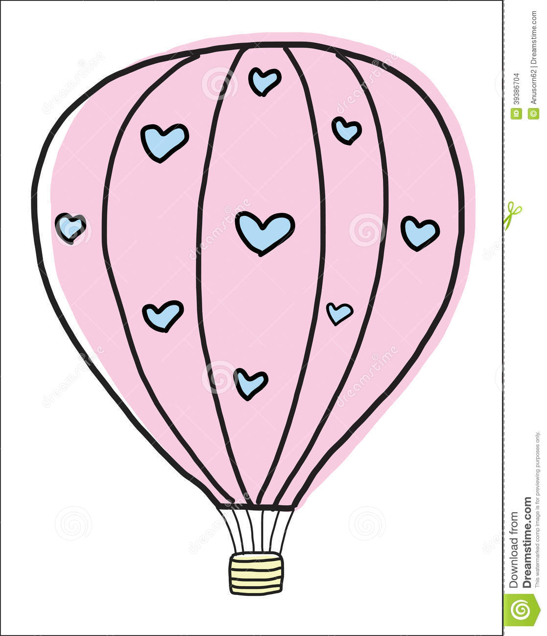 Uncategorized Draw A Balloon hand draw vintage balloon stock vector image of 39386704 balloon
