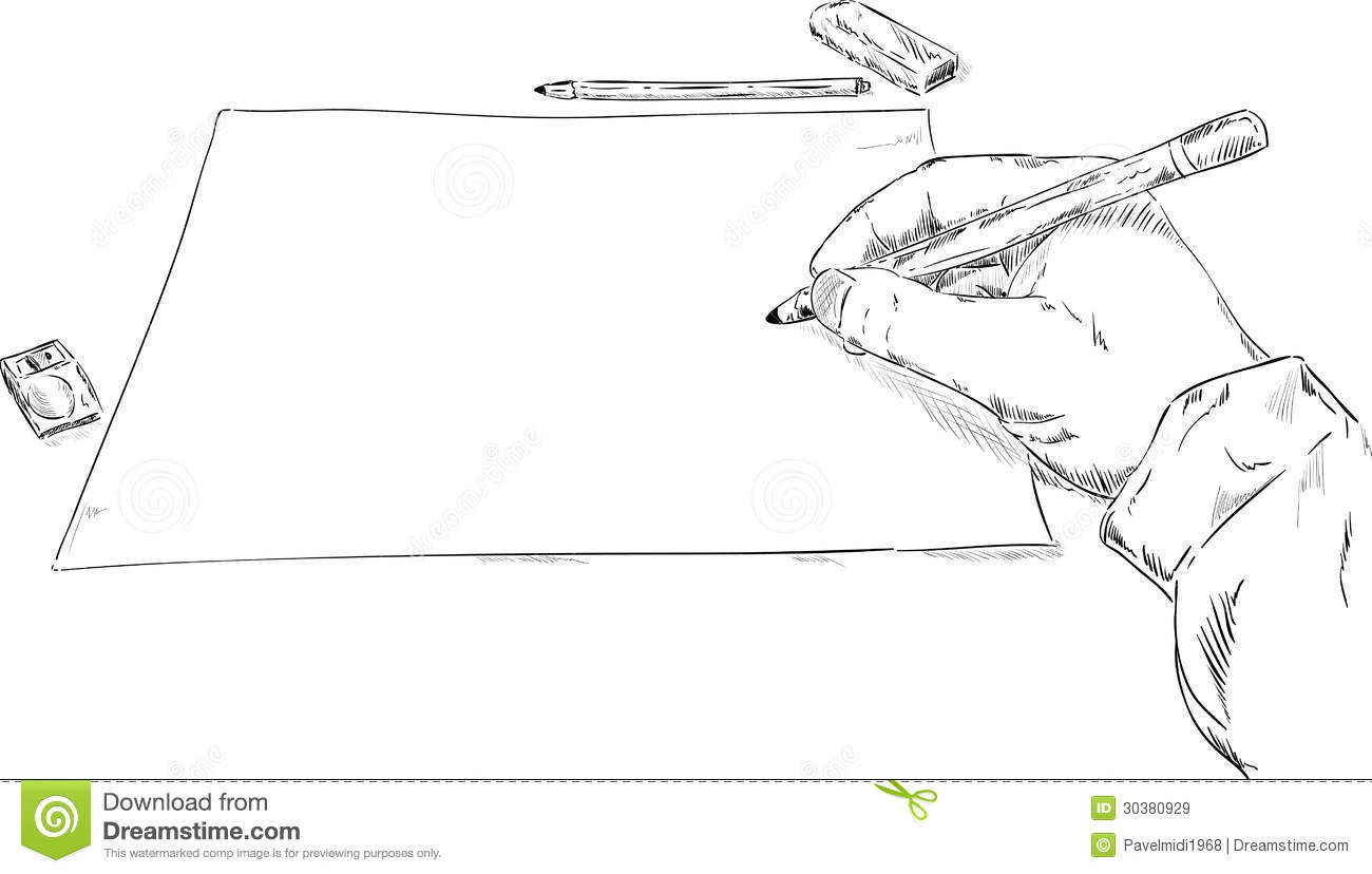 Hand Drawing Royalty Free Stock Images Image 30380929
