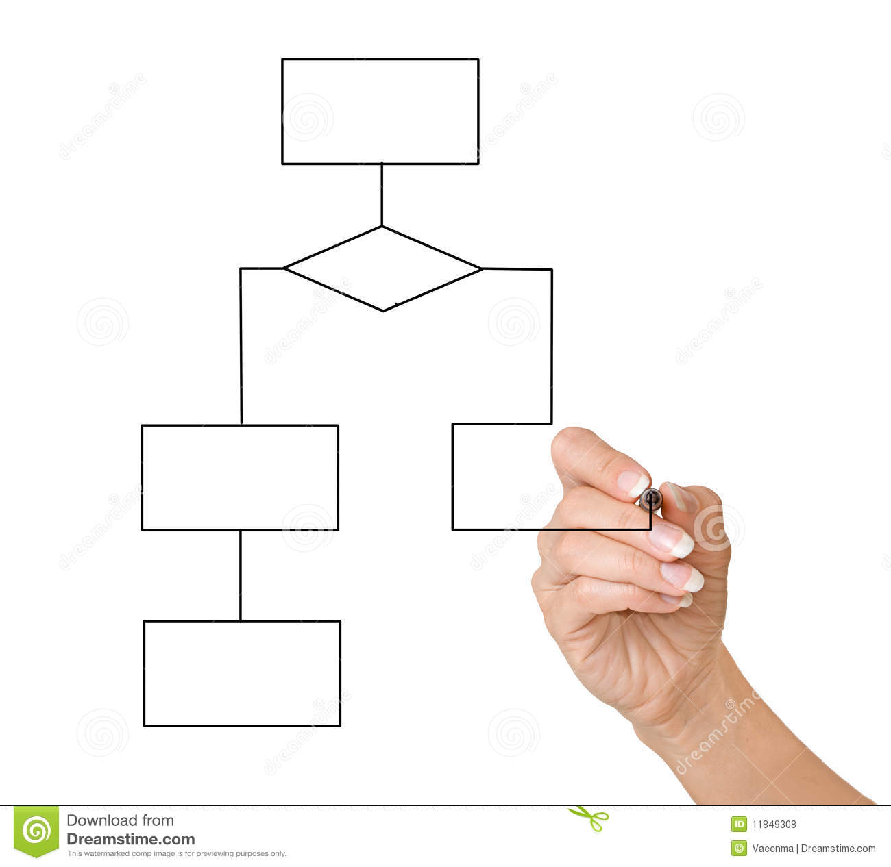 hand drawing a block diagram stock photo image of closeup rh dreamstime com block diagram drawing control block diagram drawing tool