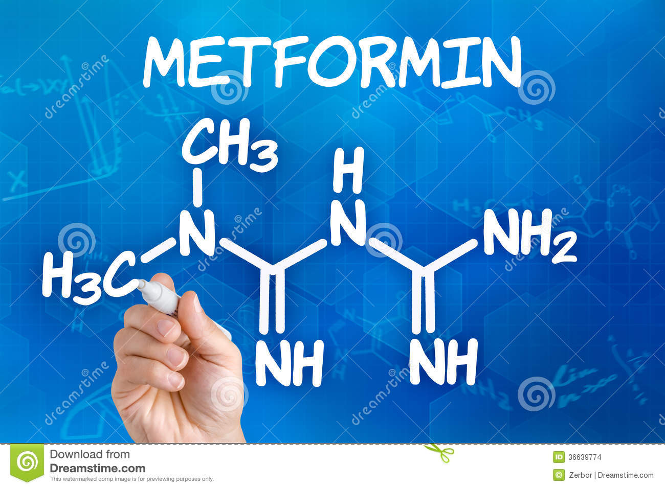 is chemical the name for metformin what
