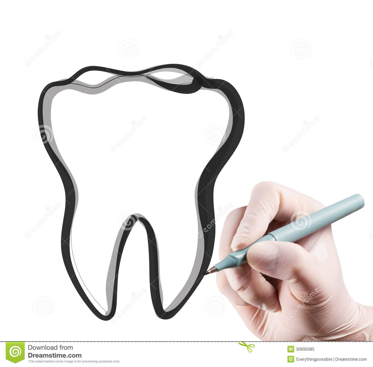 It is an image of Stupendous Drawing Of Teeth