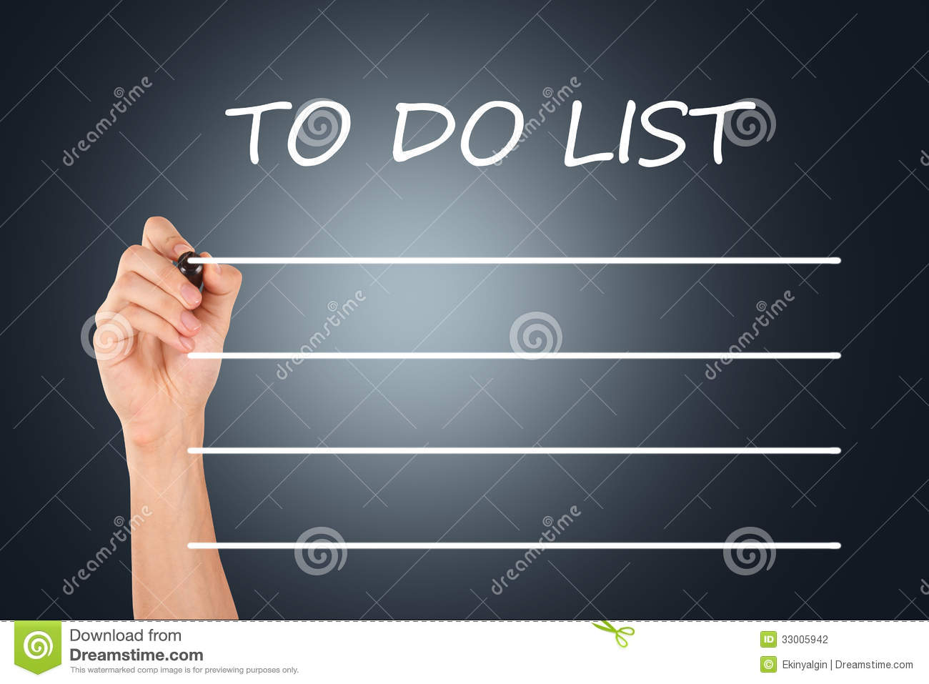 hand drawing to do list stock photo image of writing 33005942