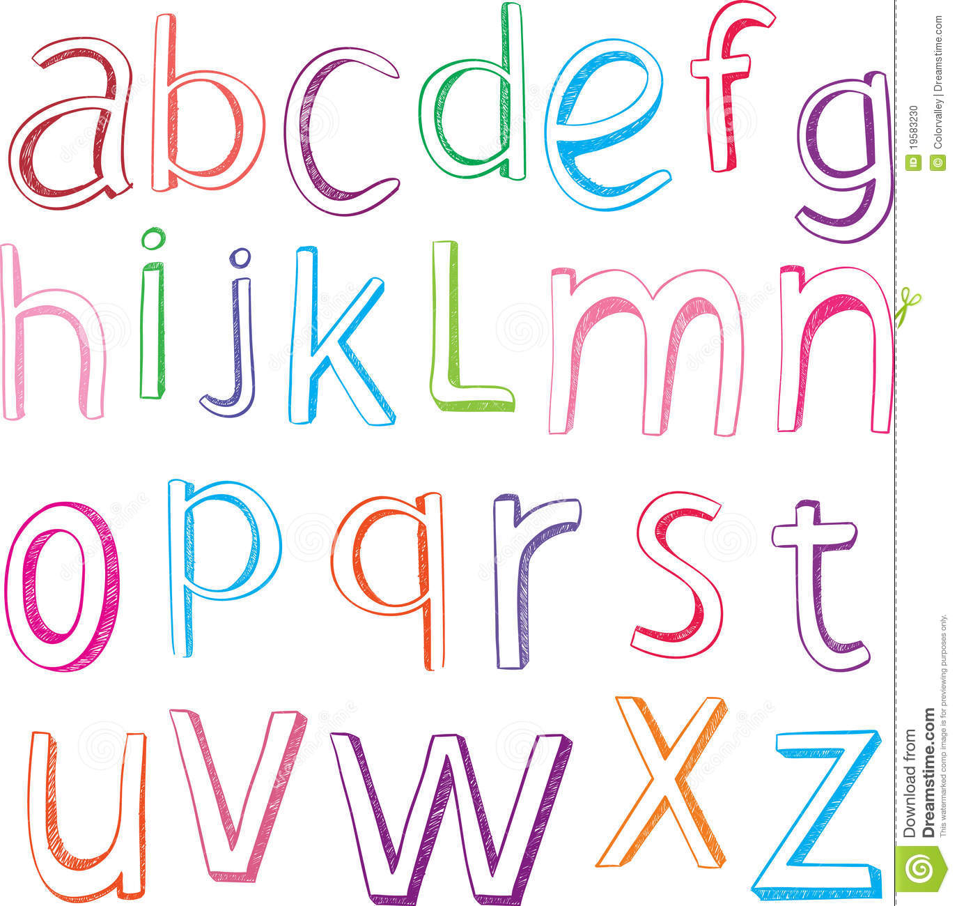 Pretty Alphabet Letters To Draw Hand drawn alphabet letters Pretty Alphabet Letters To Draw