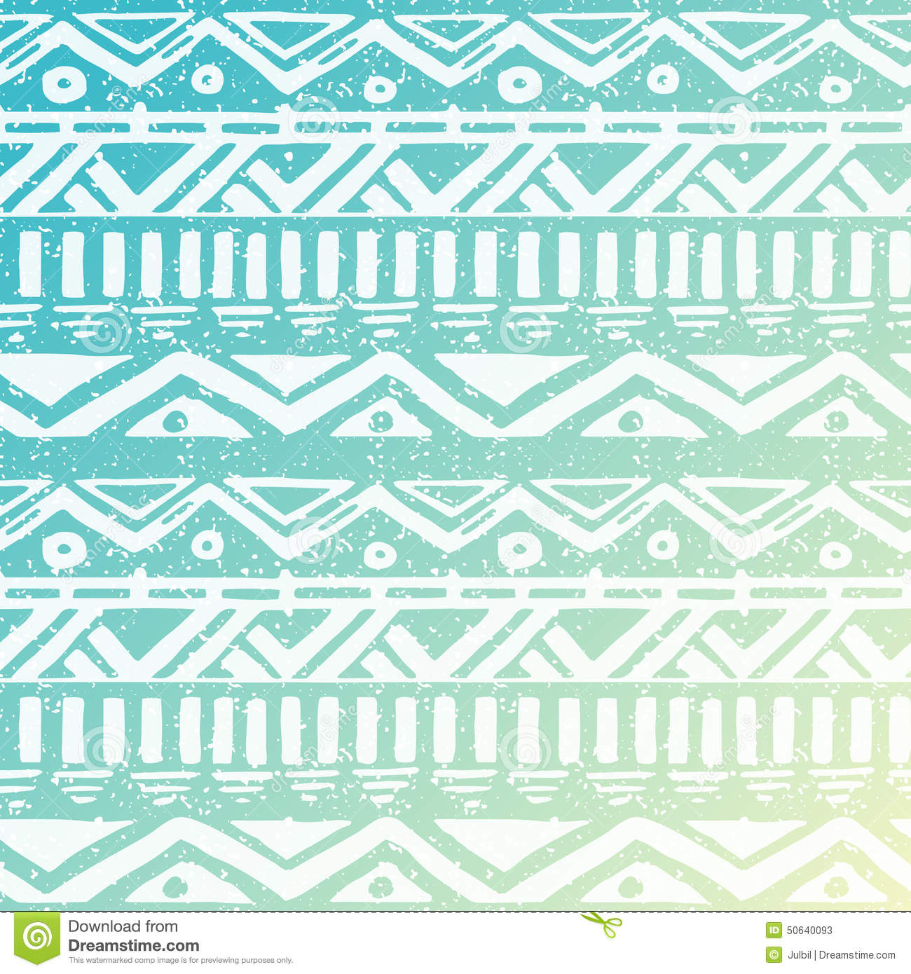 turquoise and green striped wallpaper