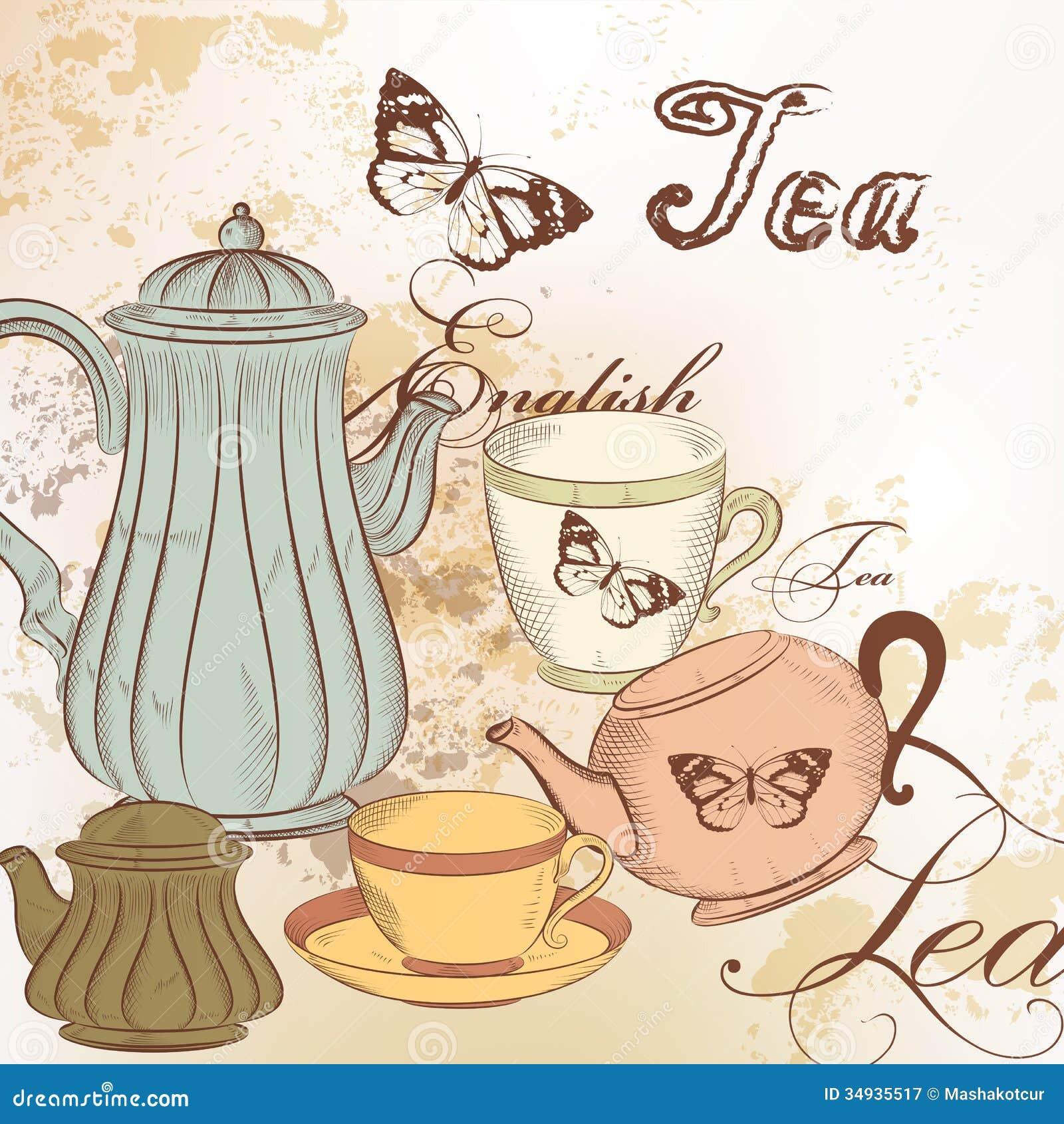 vintage tea cup wallpaper - photo #39