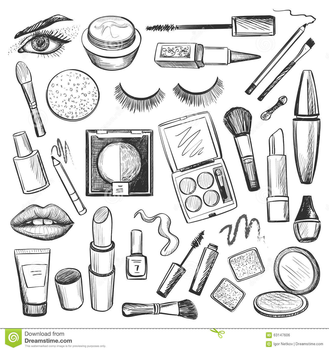 makeup coloring pages 28 images free coloring pages of make up