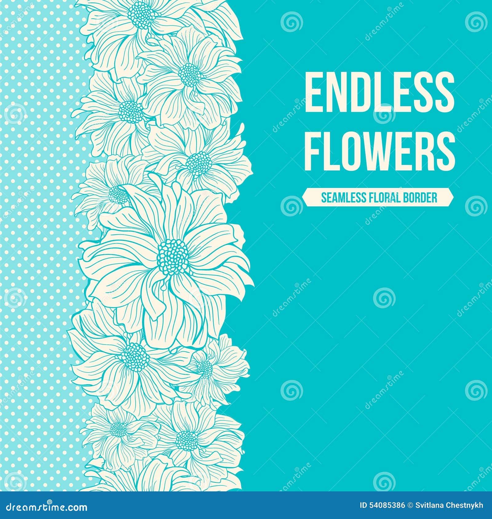 Hand-drawn bloemen van dahlia