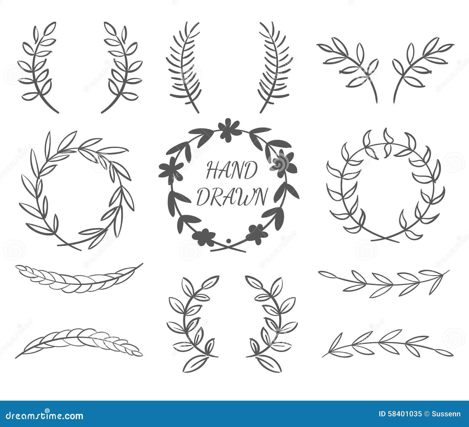 Hand Drawn Borders Stock Illustration - Image: 58401035