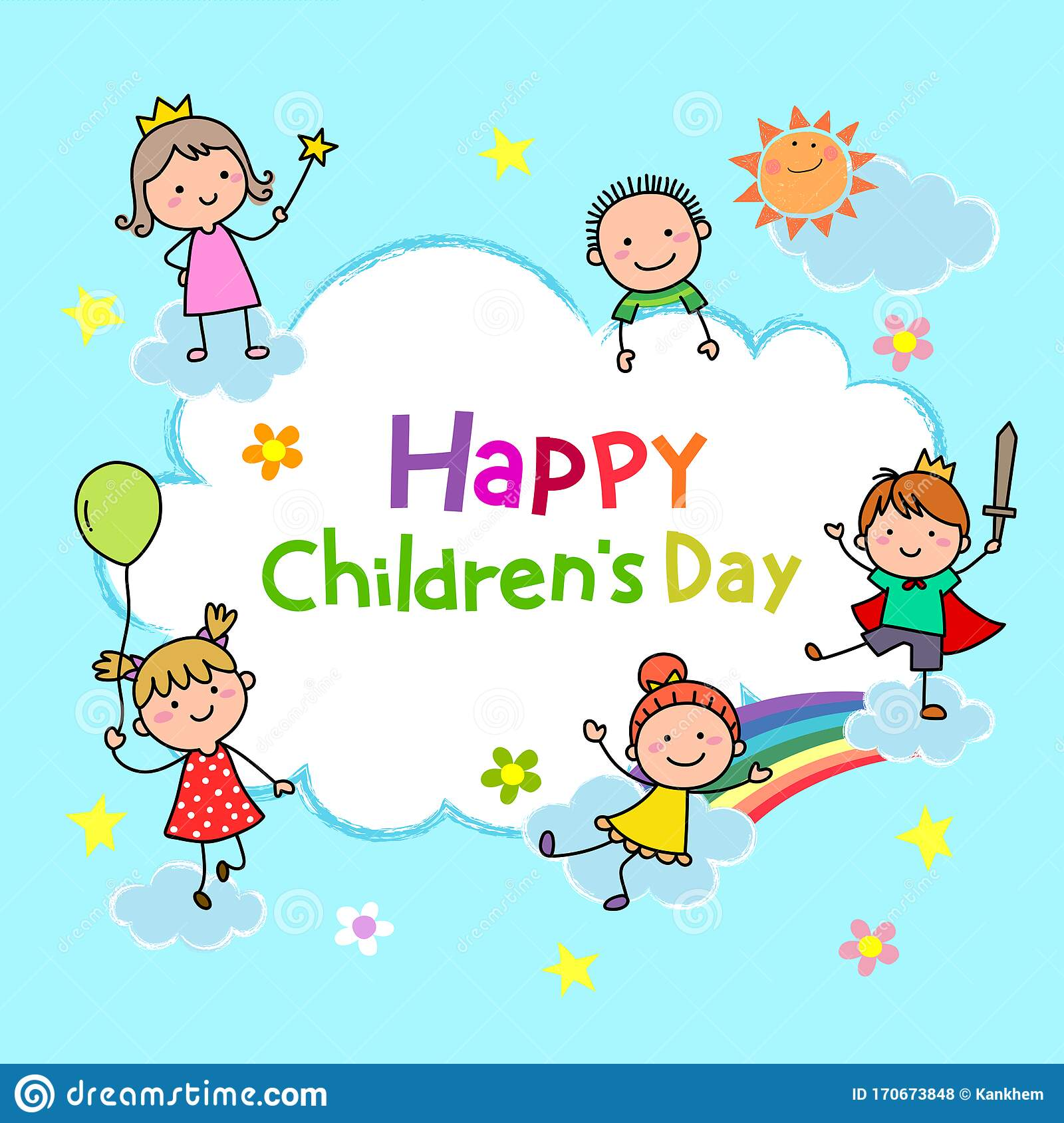 School Children 123 - Happy Children's Day 2017 Quotes - Free Transparent  PNG Clipart Images Download