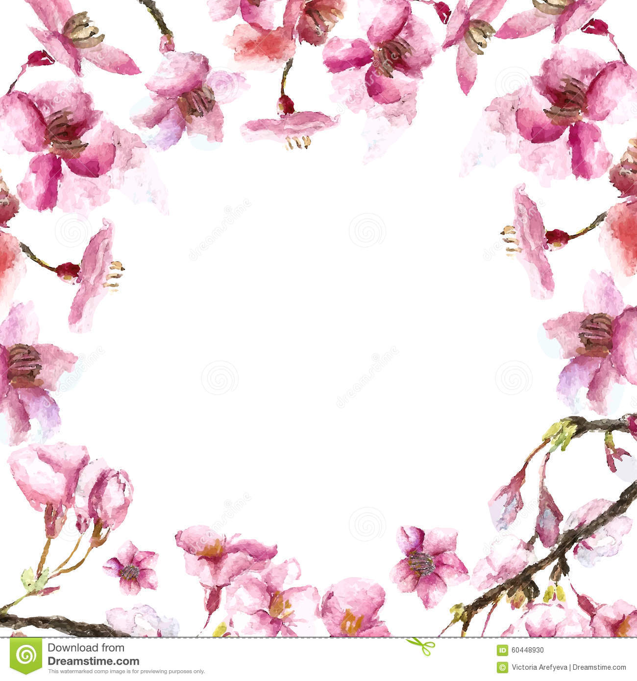 Asian flower and petal 2 6
