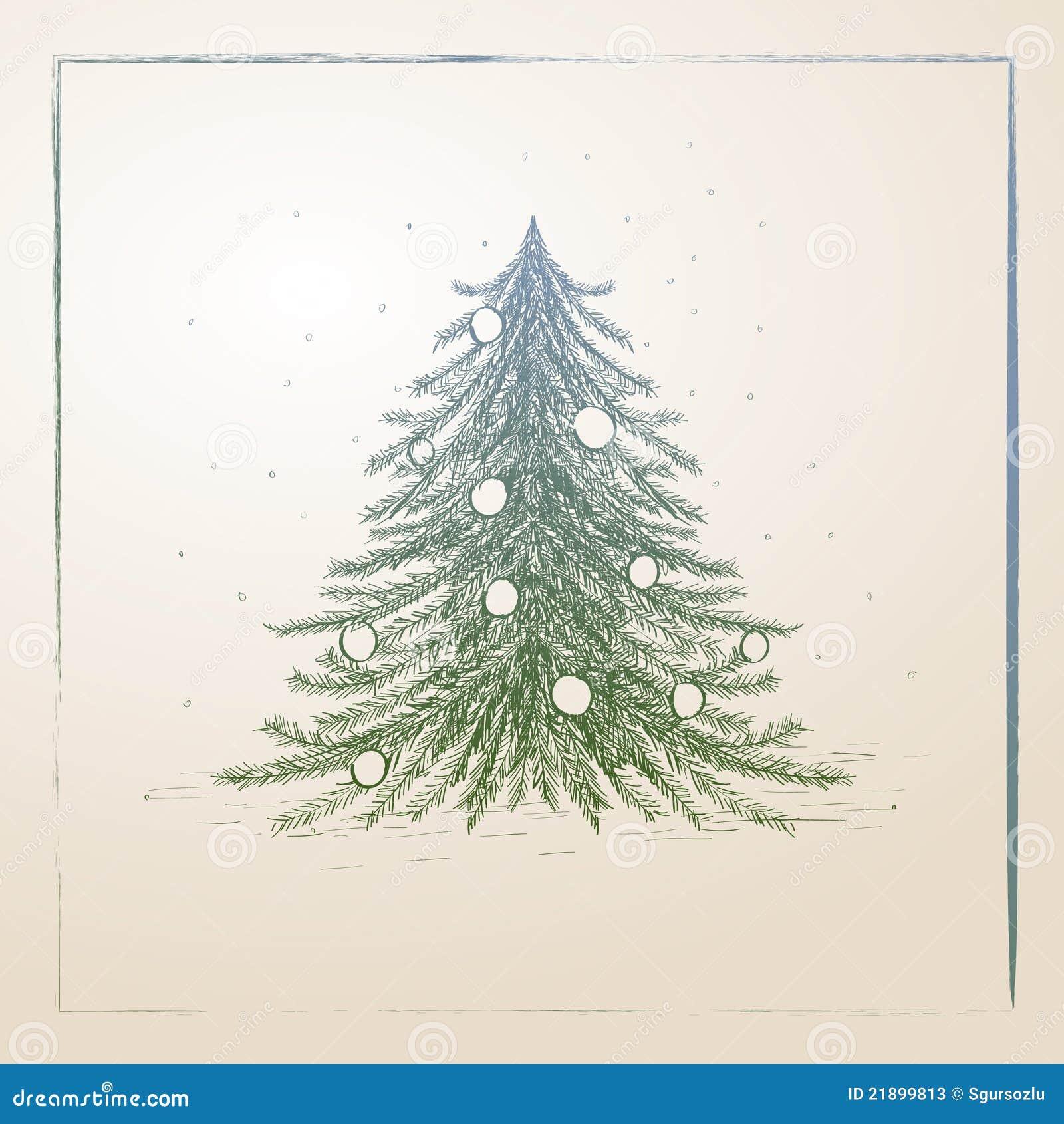 Uncategorized Drawn Christmas Trees hand drawn christmas tree stock photos image 21899813 royalty free photo download tree
