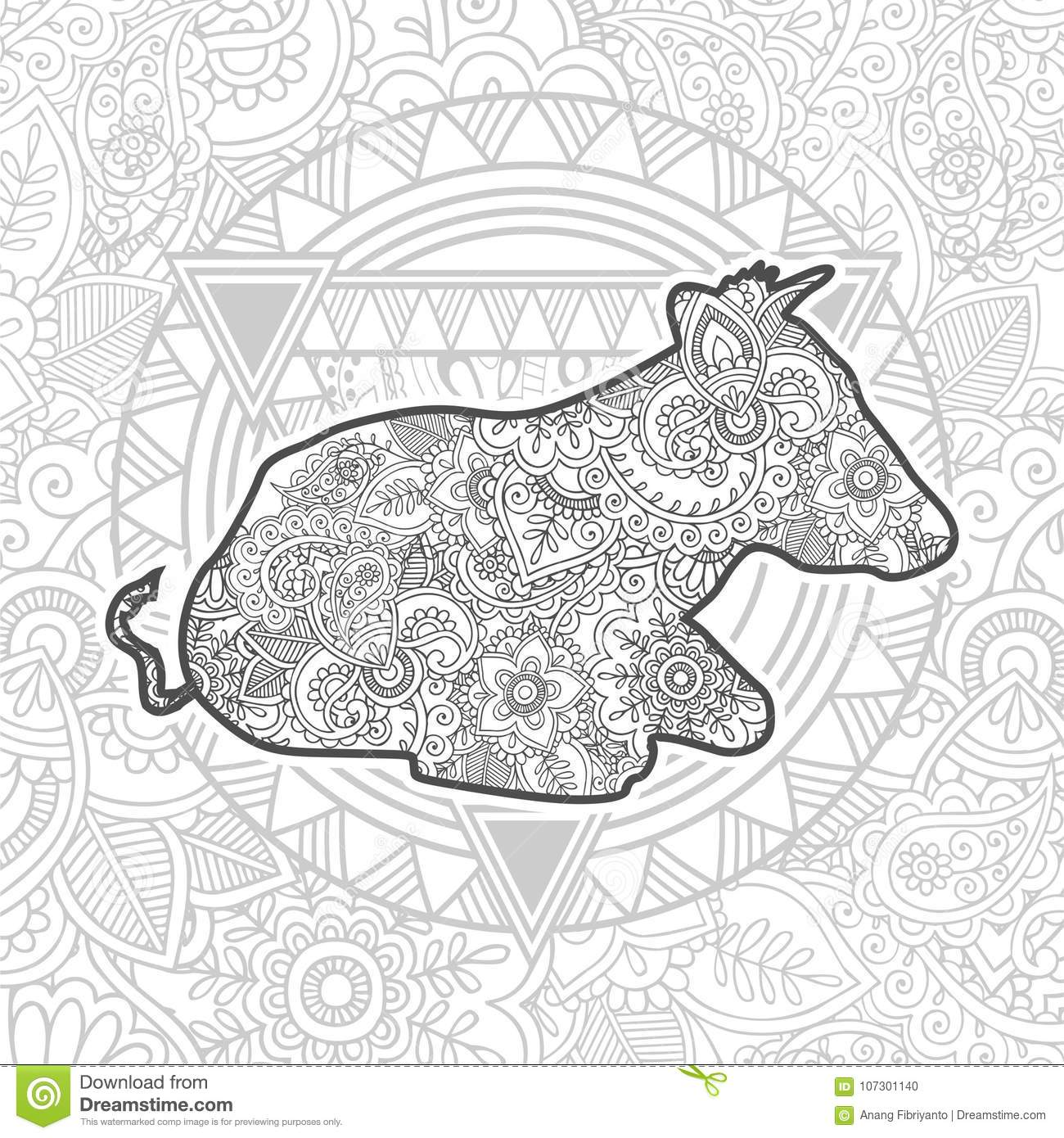 8800 Coloring Pages Zentangle Animals , Free HD Download