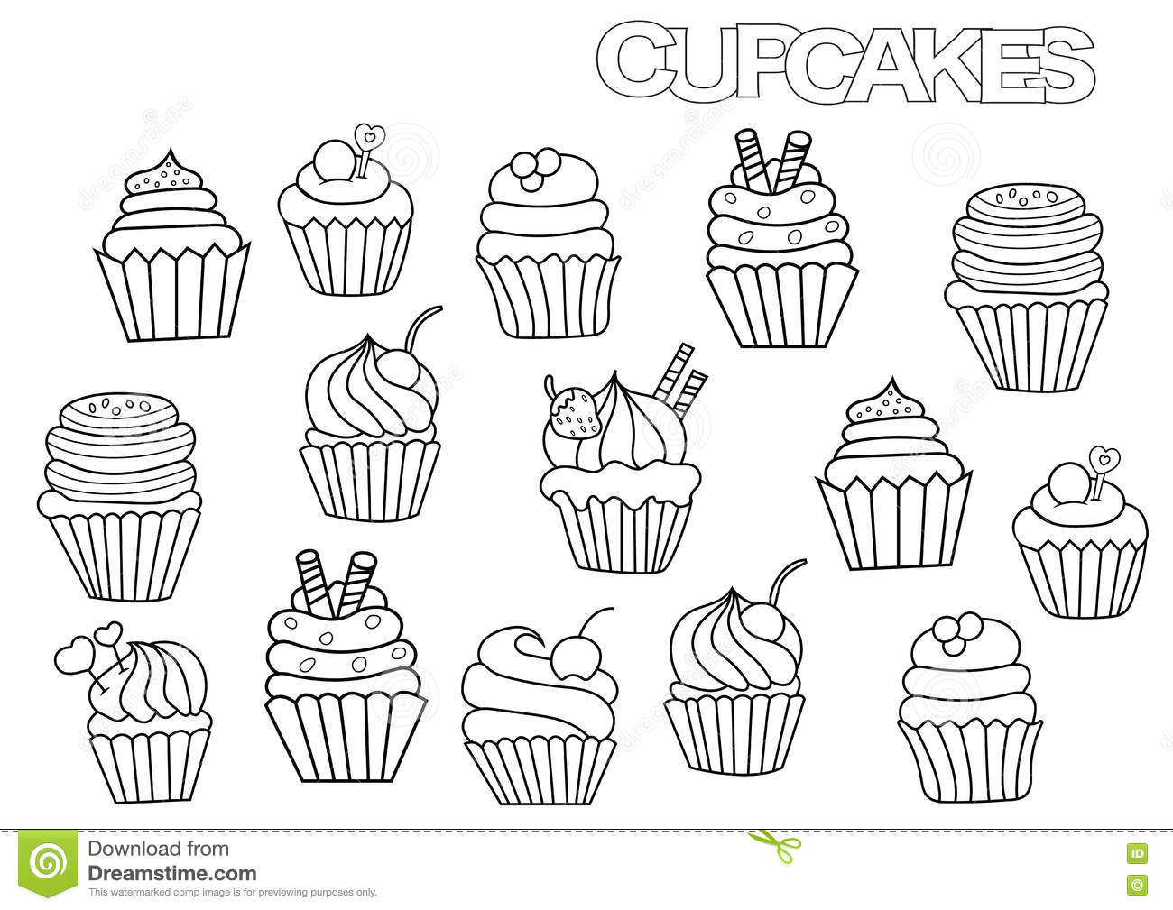 Balloon Clipart Image 50326 together with Outlined Happy Children Around A Cake And Pesents At A Birthday Party 1201502 in addition Thank You Card as well Stock Illustration Happy Birthday Boss Joe Big Cake Says Image67038988 together with Hand Drawn Cupcakes Set Coloring Book Page Template. on happy birthday celebration