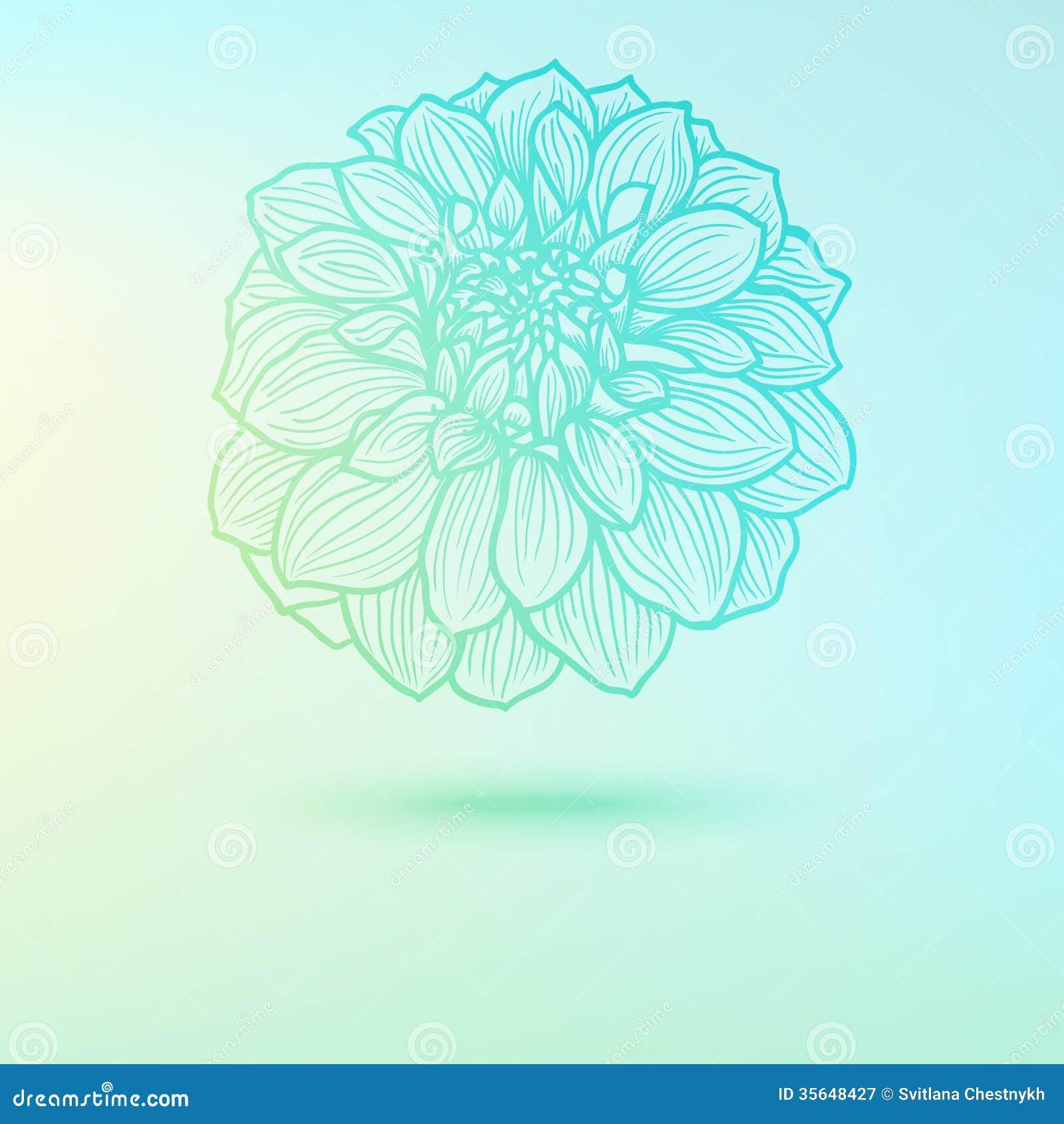 illustration soft floral - photo #21