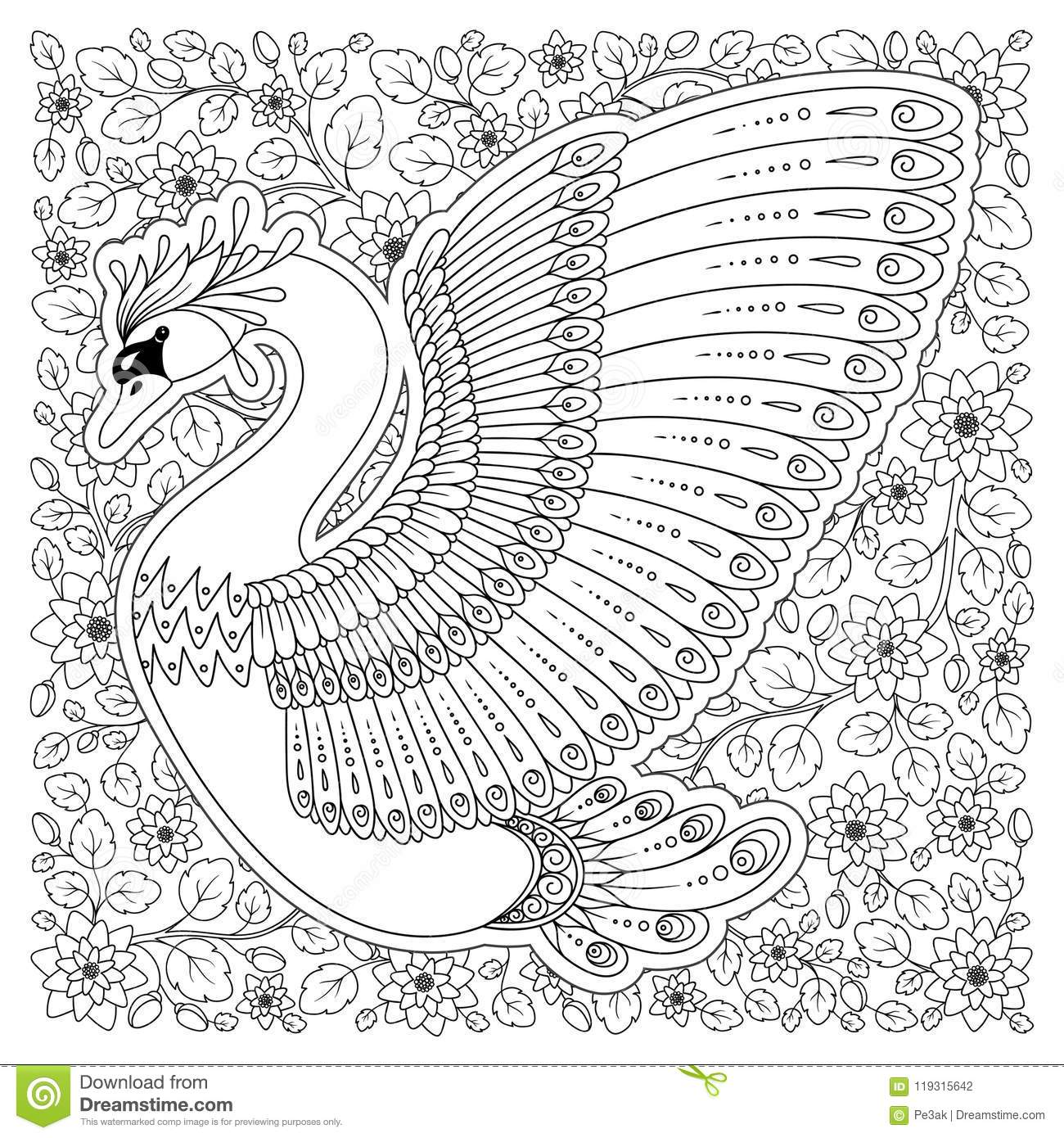 Exotic frog coloring page to print or download for fkids | 1390x1300