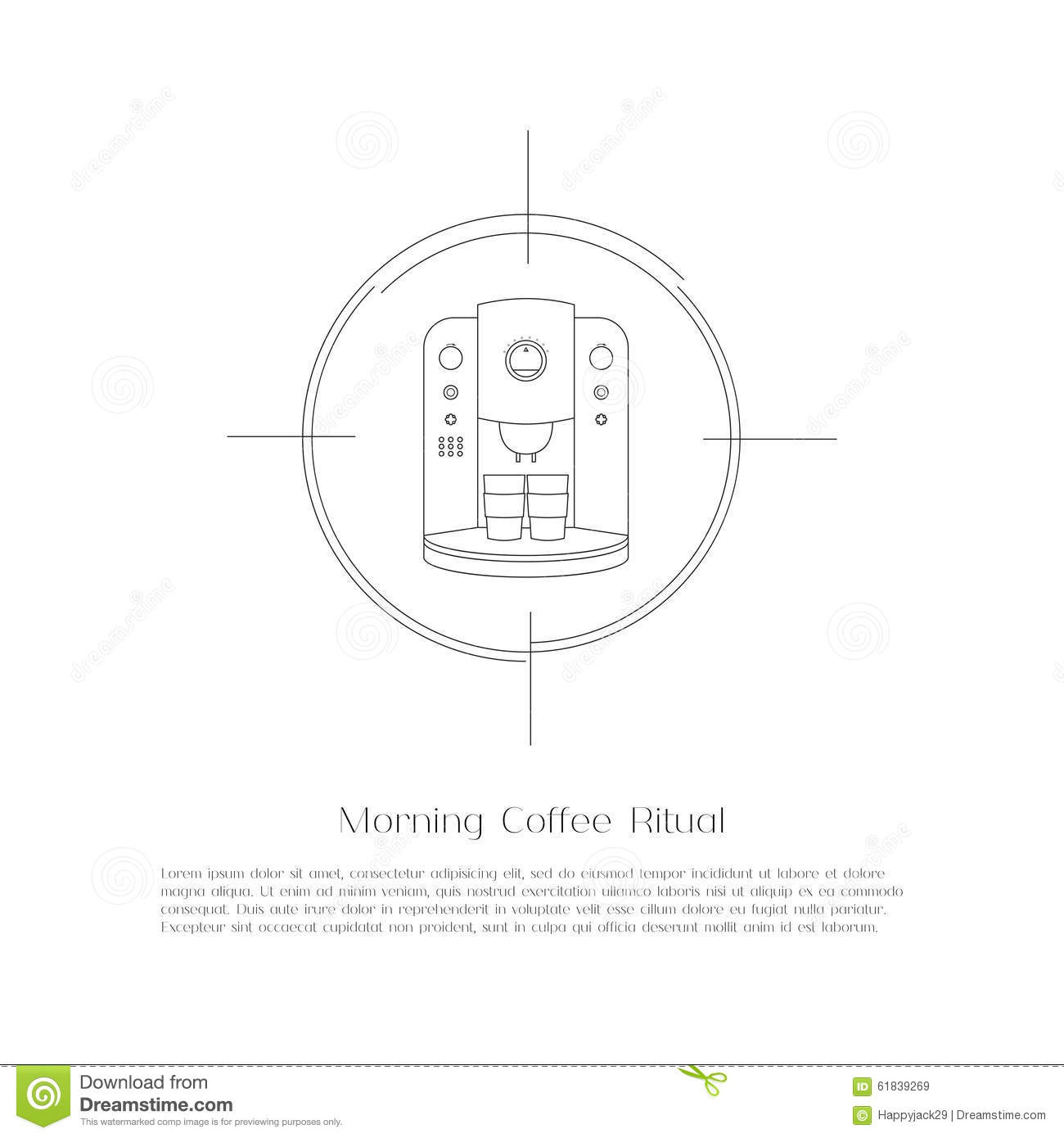 Simple Coffee Maker Diagram Schematic Diagrams Wiring Abstract Flat Machine Stock Vector Illustration Of Keurig Download