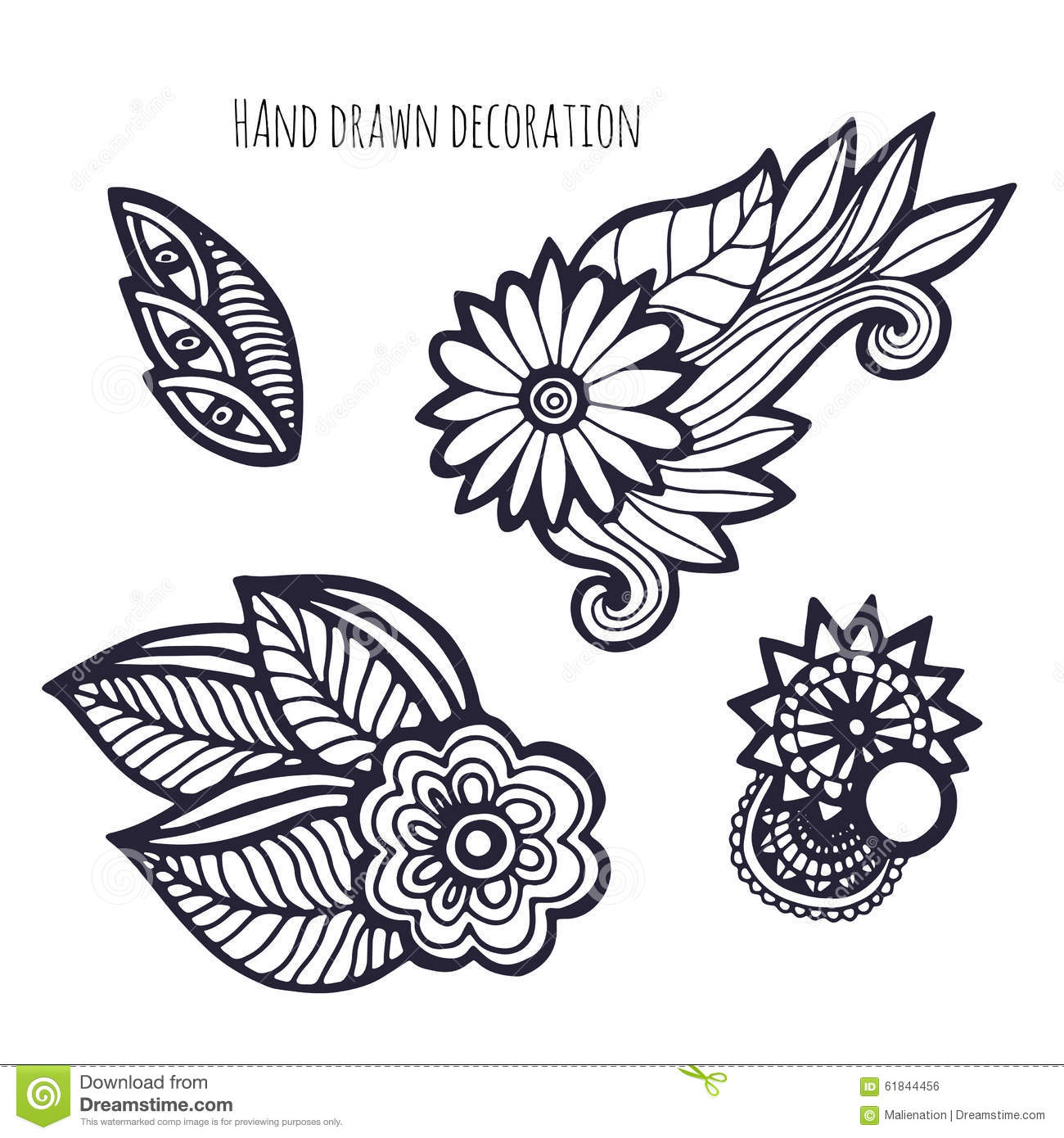 whimsical flower coloring pages - photo#27