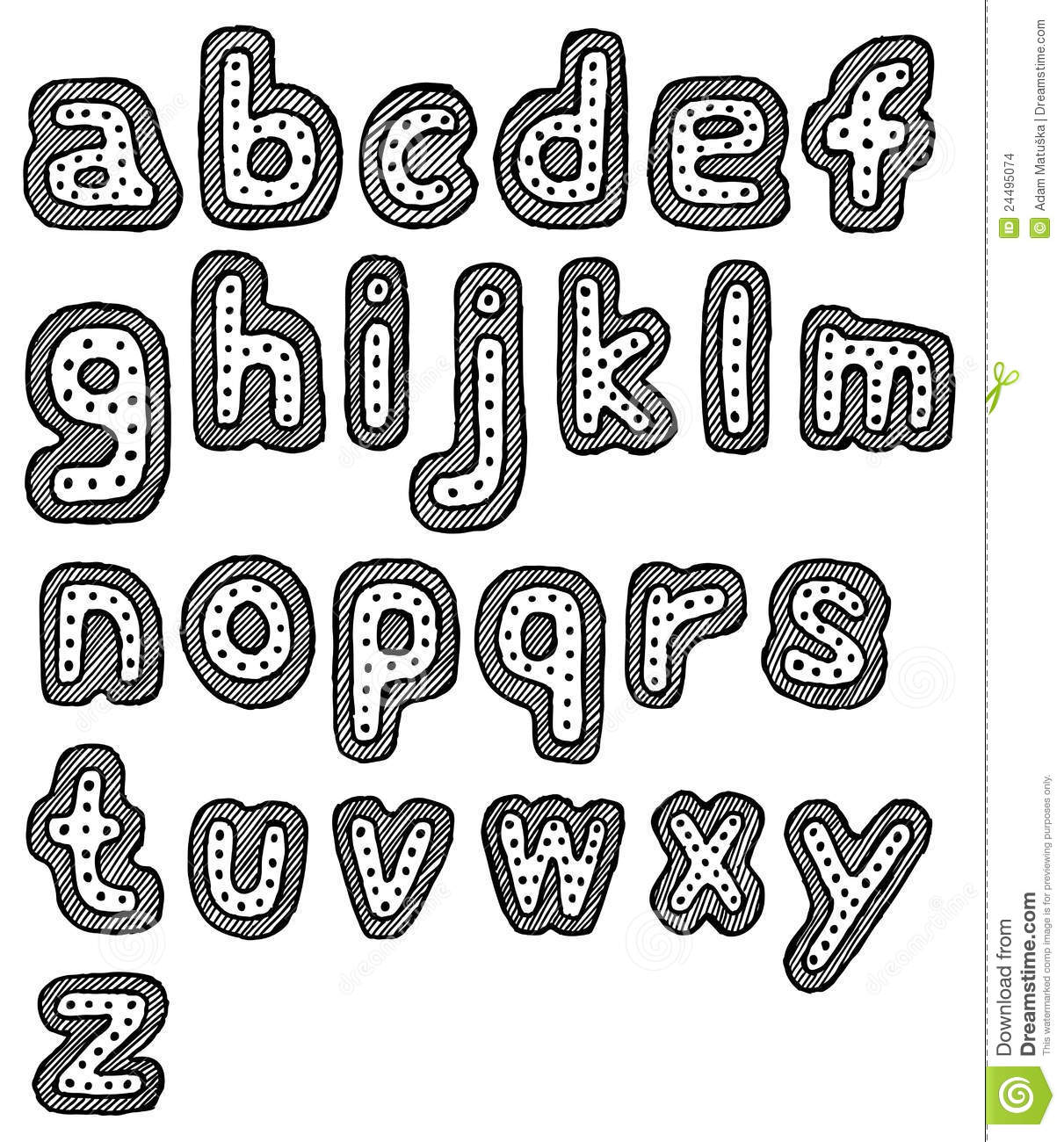 how to draw cool letters az
