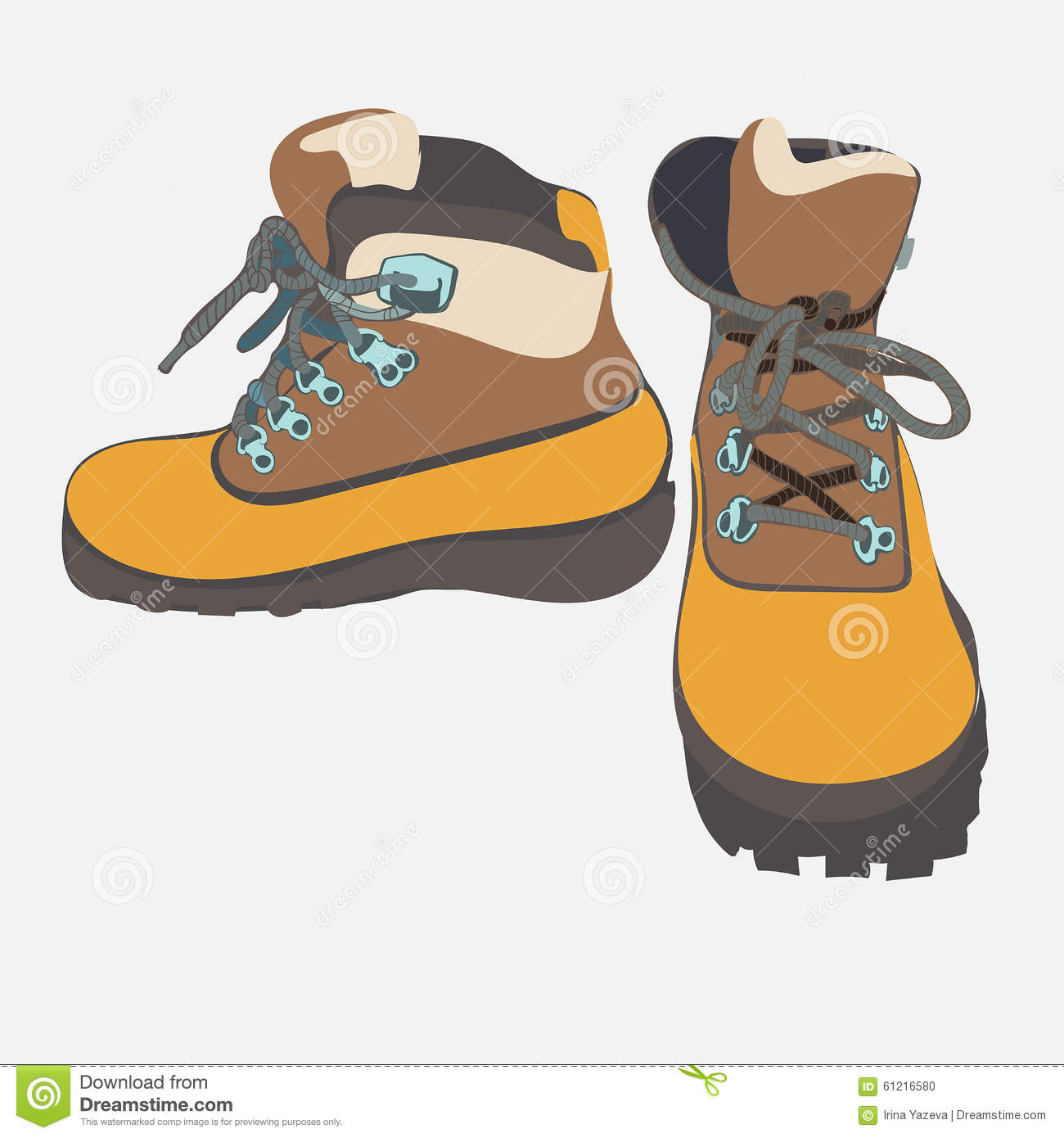Image Gallery Hiking Boots Animation