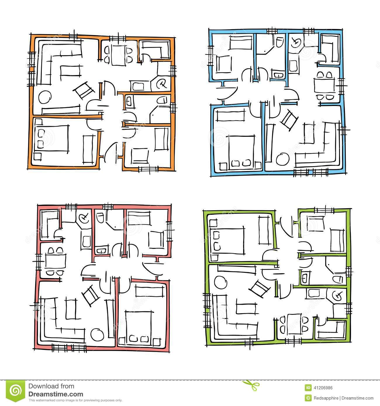 Hand Drawn Floor Plans Thefloors Co