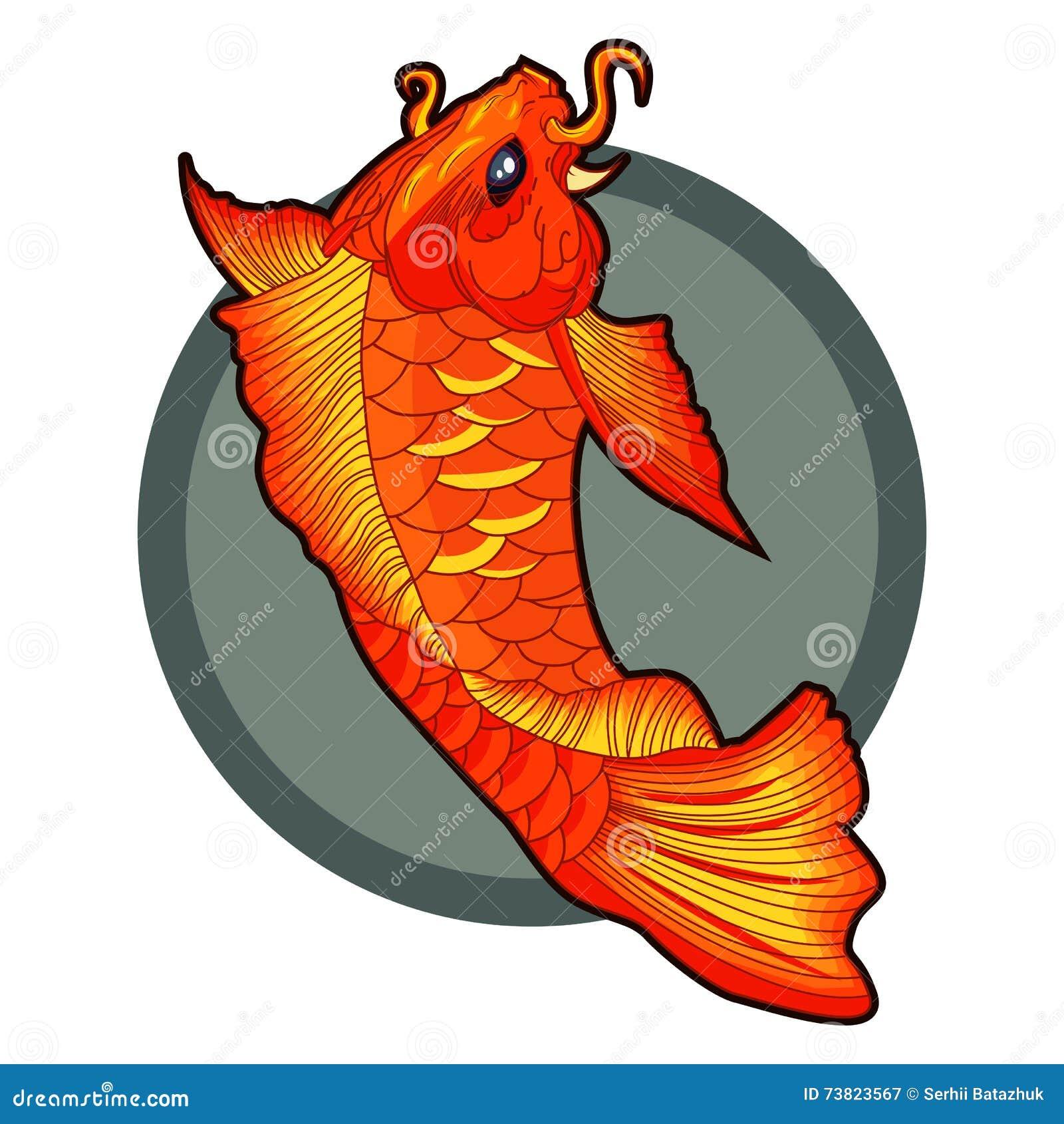 Similiar Vector Koi Fish Tattoo Keywords
