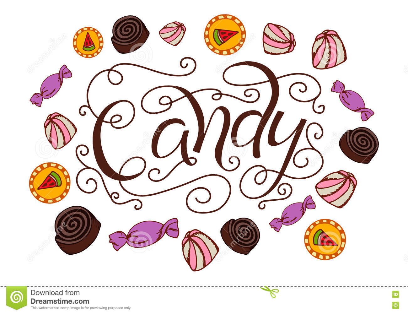 Candy Template. free printable small peppermint candy ...