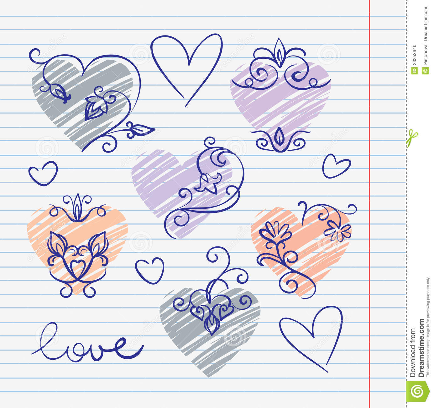 Cute easy love doodles the image kid for Love doodles to draw