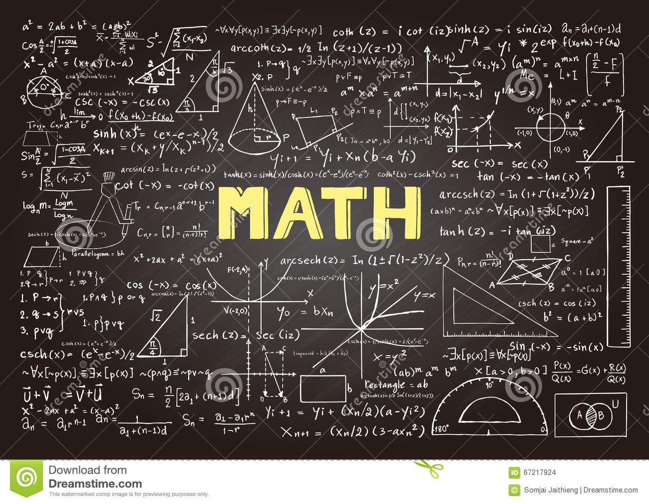 all mathematical formulas pdf free download