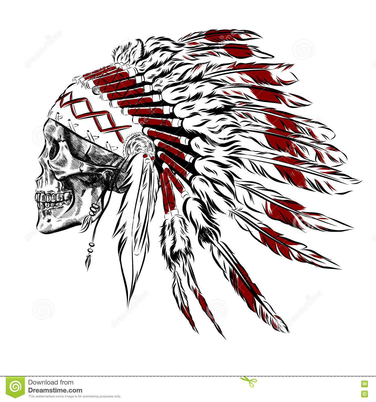 American Indian Tattoos Design Prices