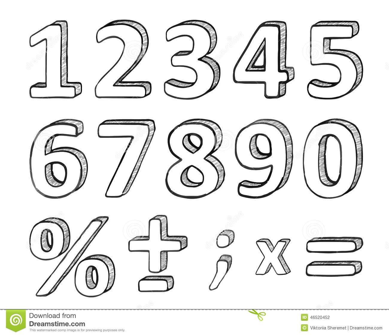 free vector how to write chinese number
