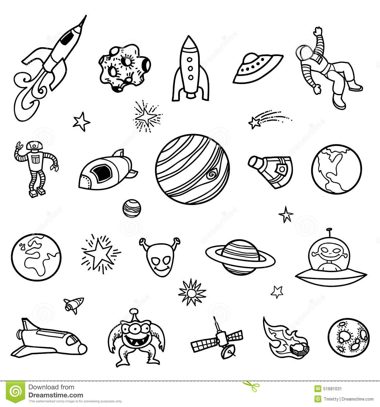 astronomy doodles - photo #44