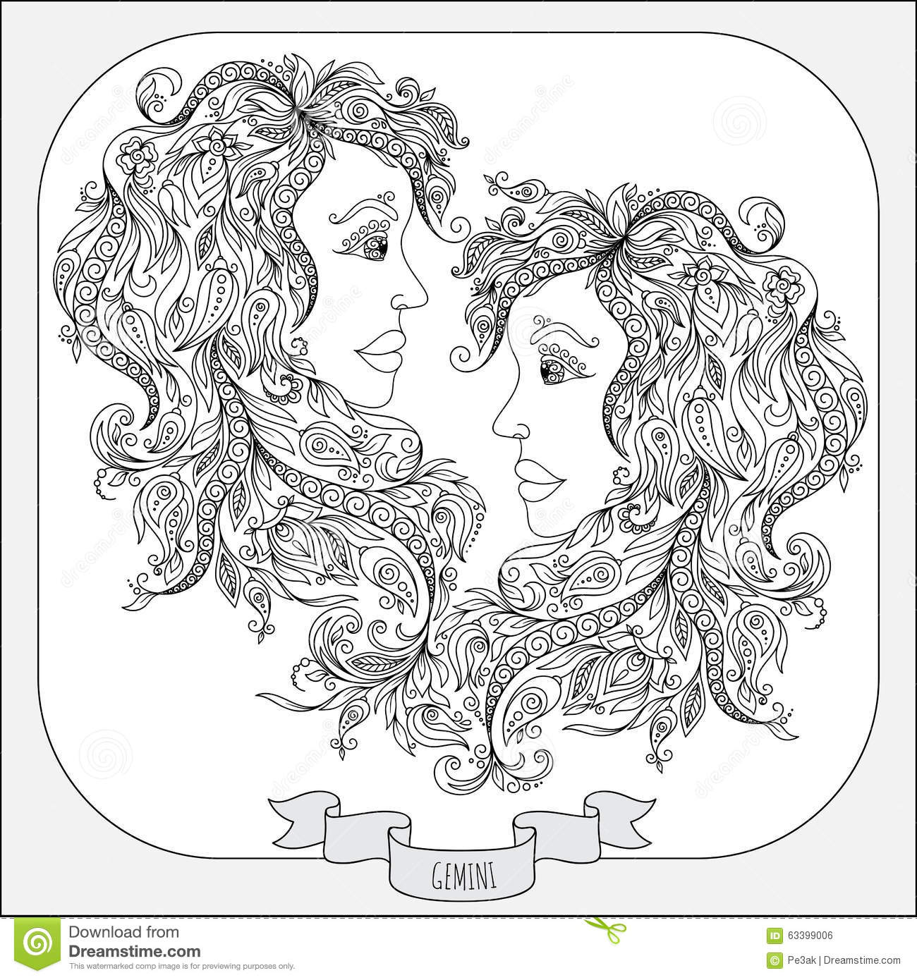 Image Result For Free Coloring Pages Gemini