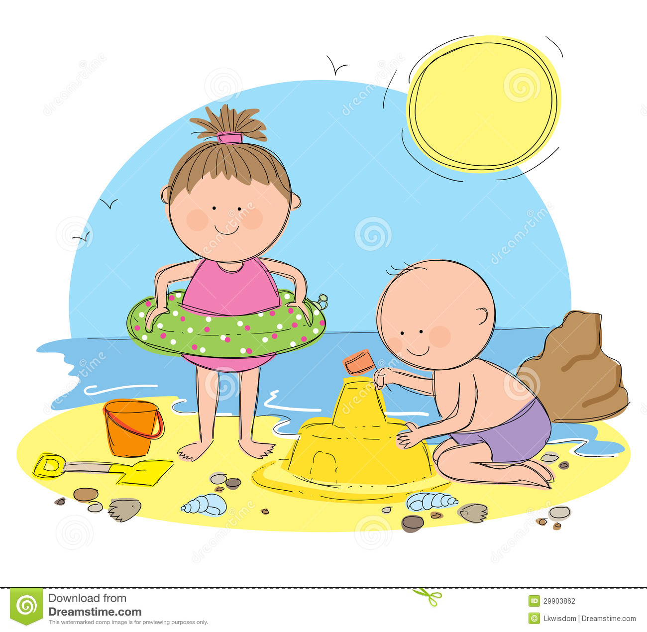Etsy Icon Vector   183  How To Make A Coraline Doll   183  Daughter To Mother    Kids Playing On The Beach Clipart