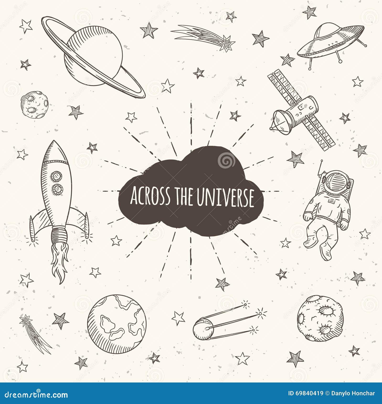 astronomy doodles -#main