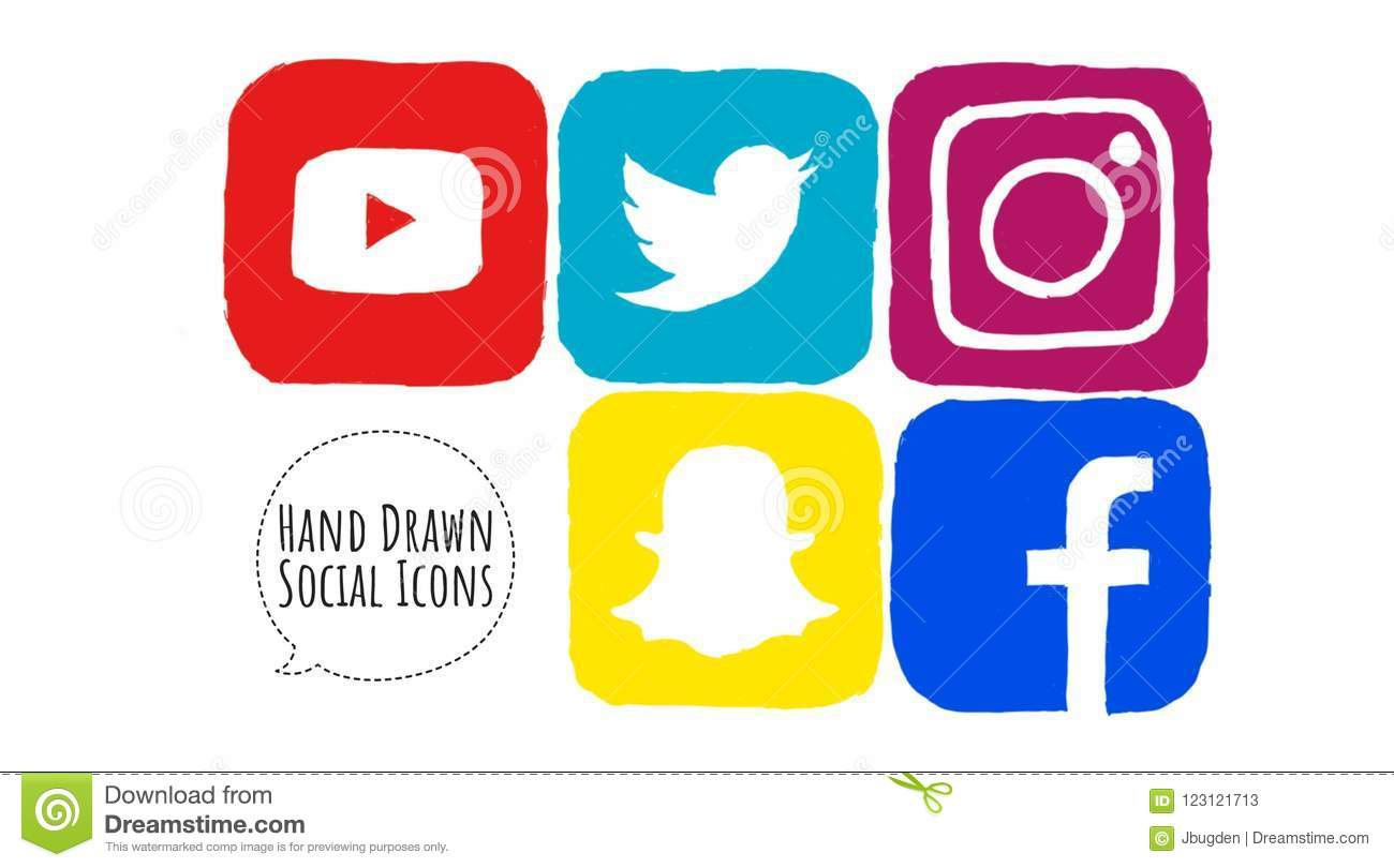 Red Social Media Icons Stock Illustrations 4 193 Red Social Media Icons Stock Illustrations Vectors Clipart Dreamstime