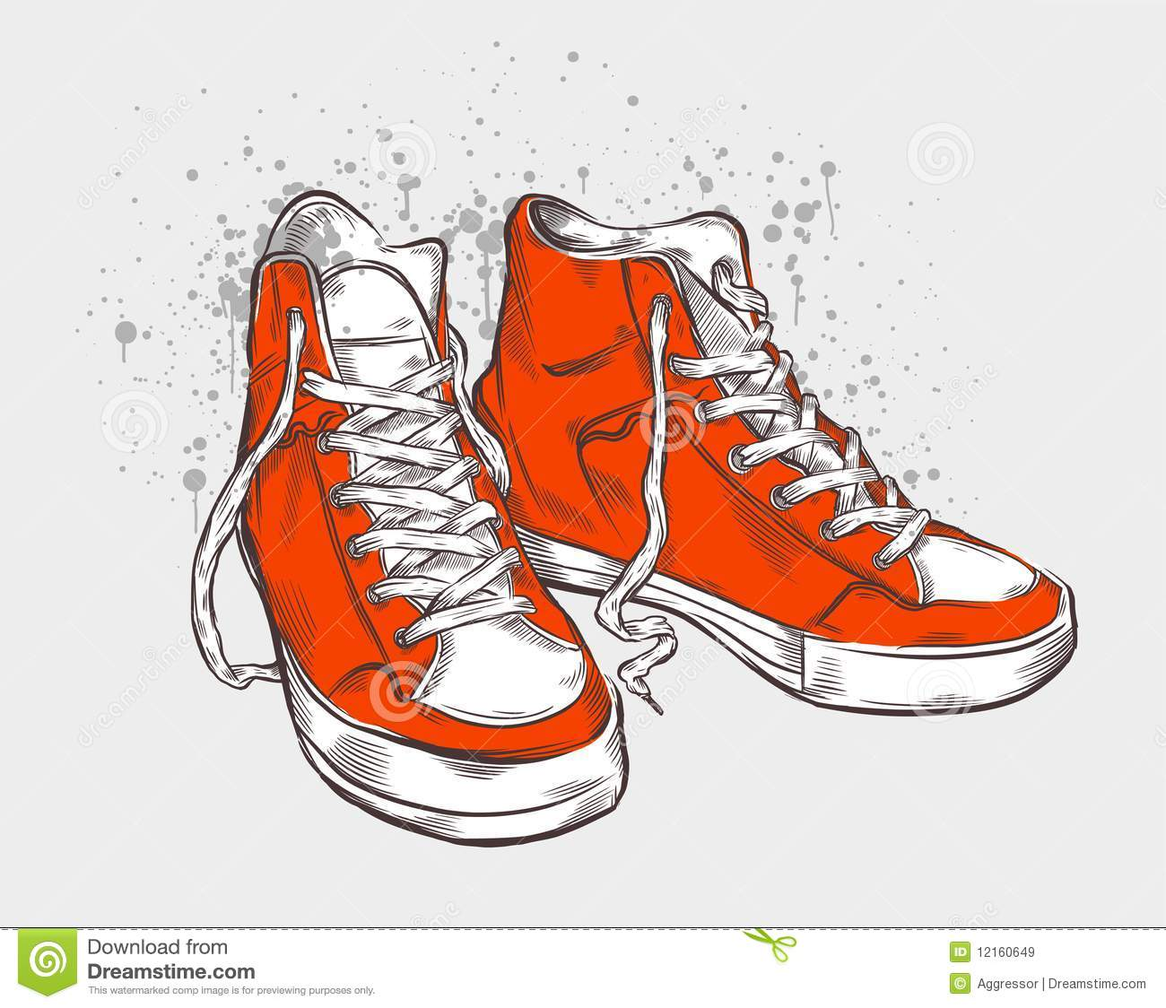 Viewing Gallery For - Sneakers Drawing