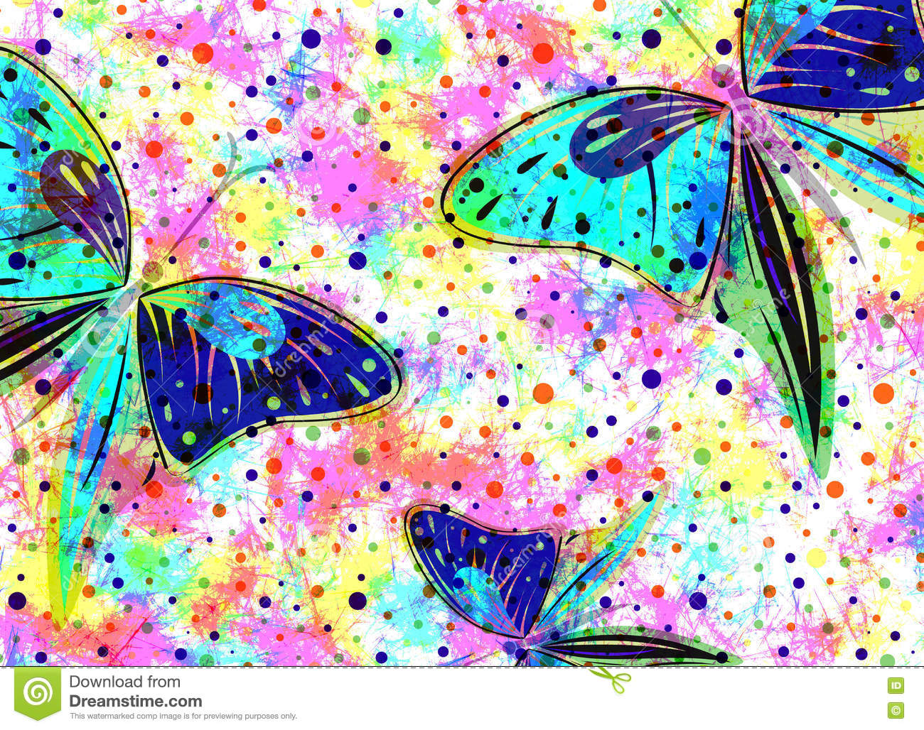 Most Inspiring Wallpaper Butterfly Hand - hand-drawn-textured-artistic-background-insect-creative-wallpaper-butterflies-rainbow-colors-decorative-watercolor-73364493  Photograph_239642.jpg