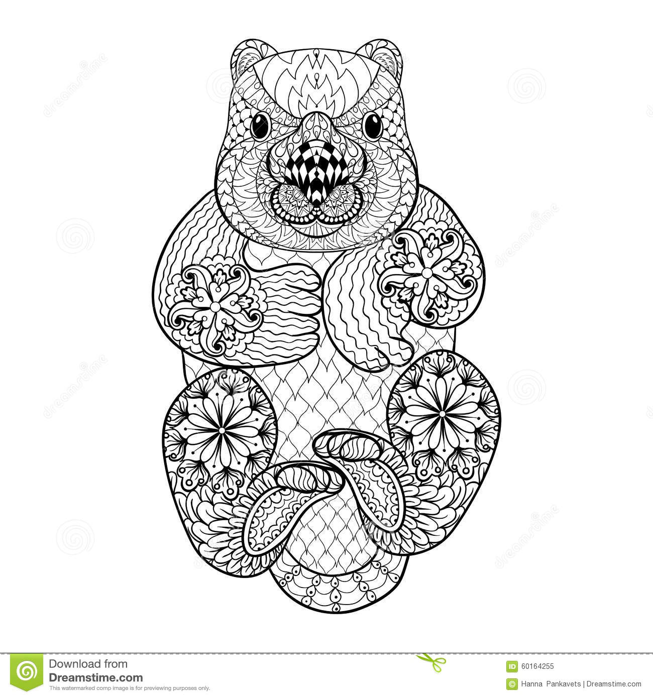 tribal animal coloring pages - photo#19