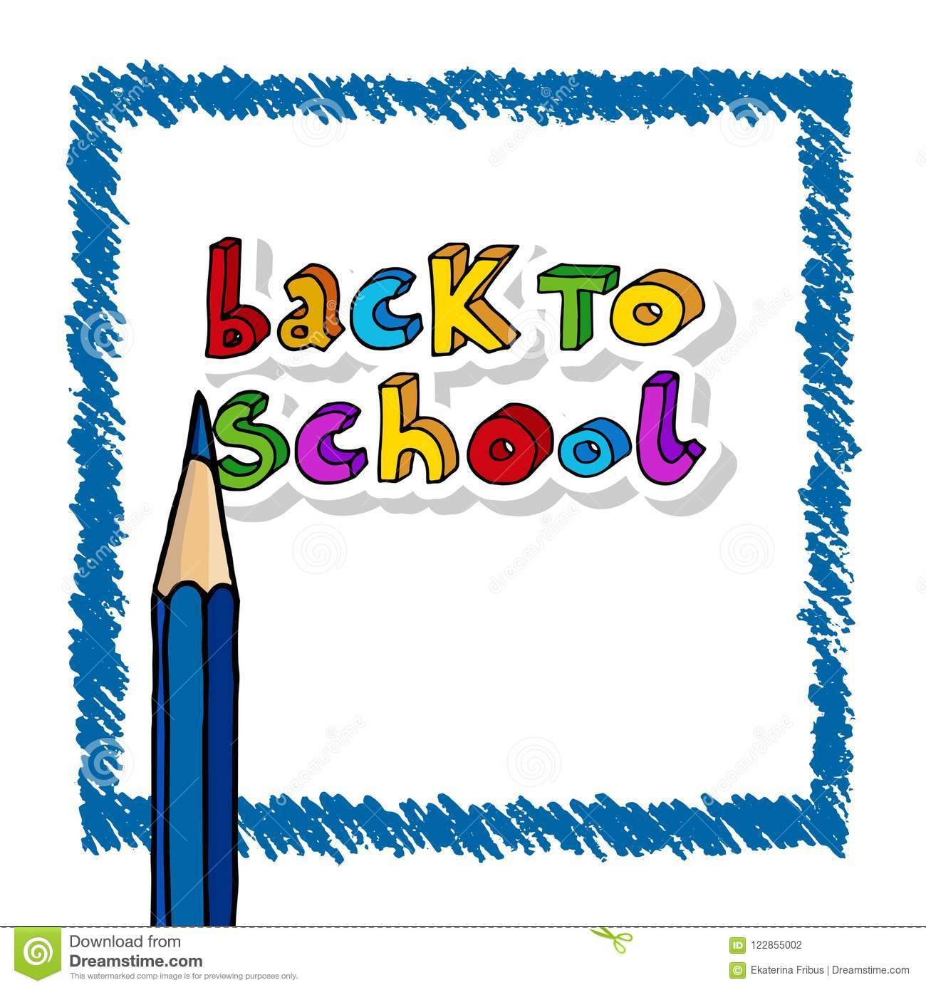 Back To School Greetings Stock Vector Illustration Of Design