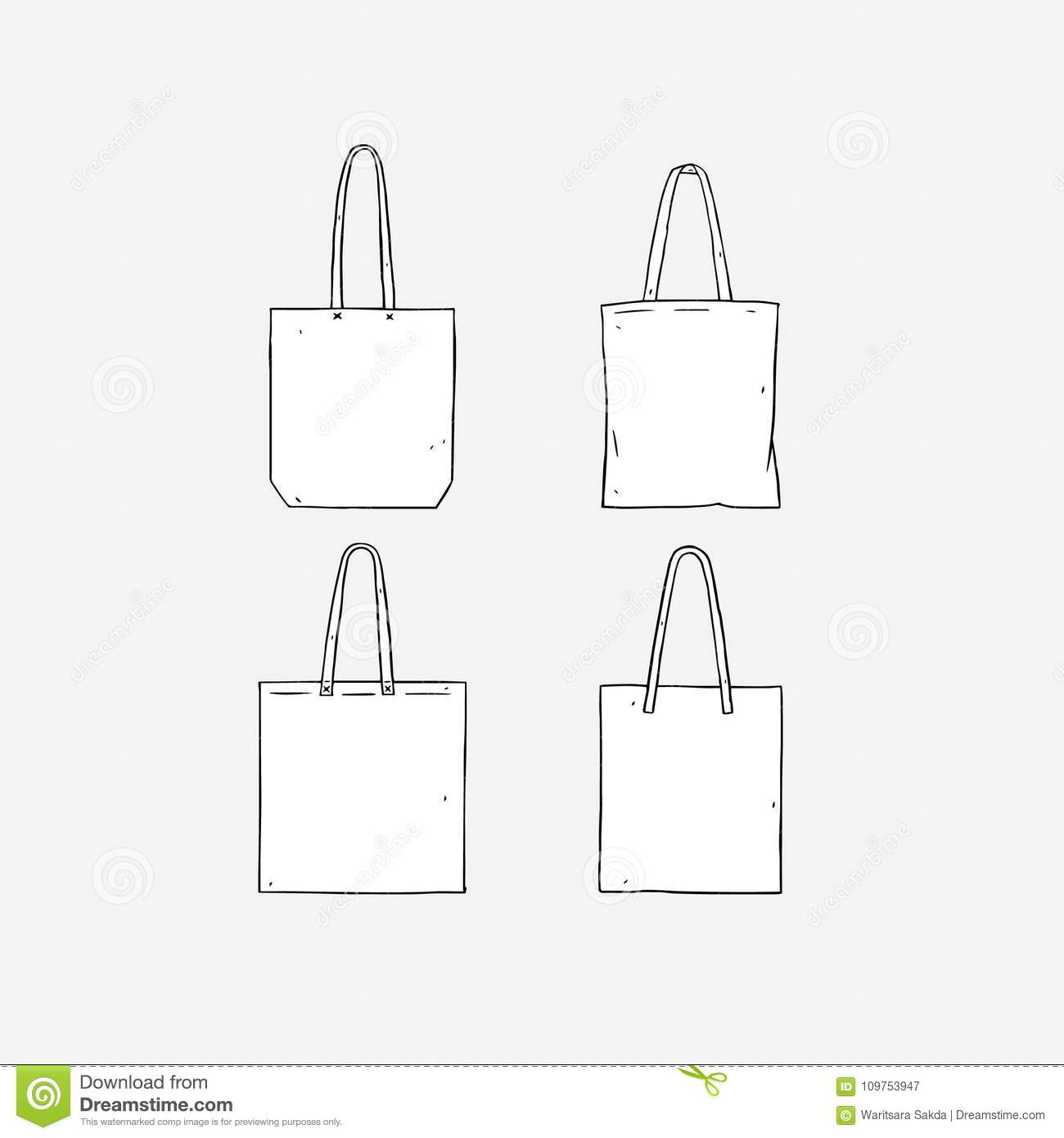 Tote bag template image collections template design ideas for Rottefella ntn freeride mounting template