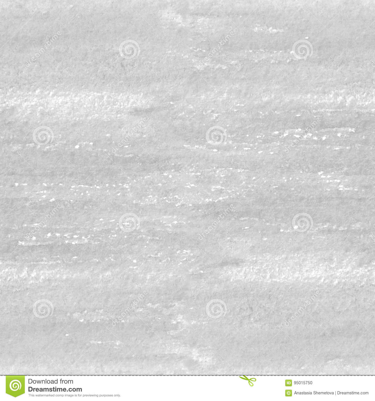 Hand drawn watercolor gray texture seamless pattern