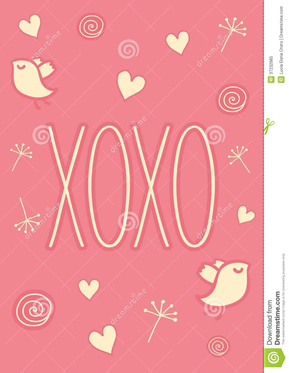 Hugs And Kisses Xoxo Clipart Hand-drawn-xoxo-card-valentines-day ...