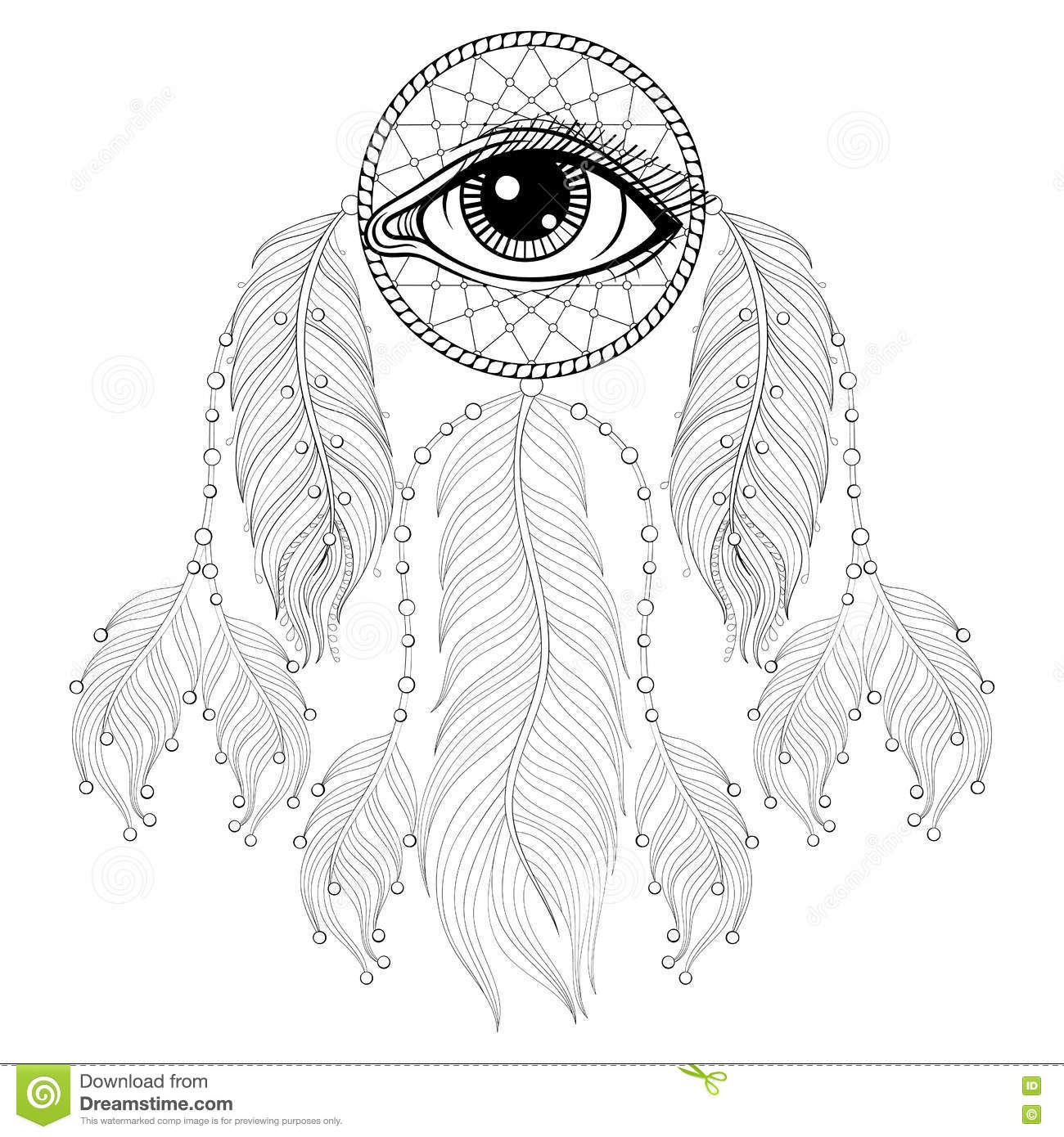 Third Eye Hand Coloring Coloring Coloring Pages