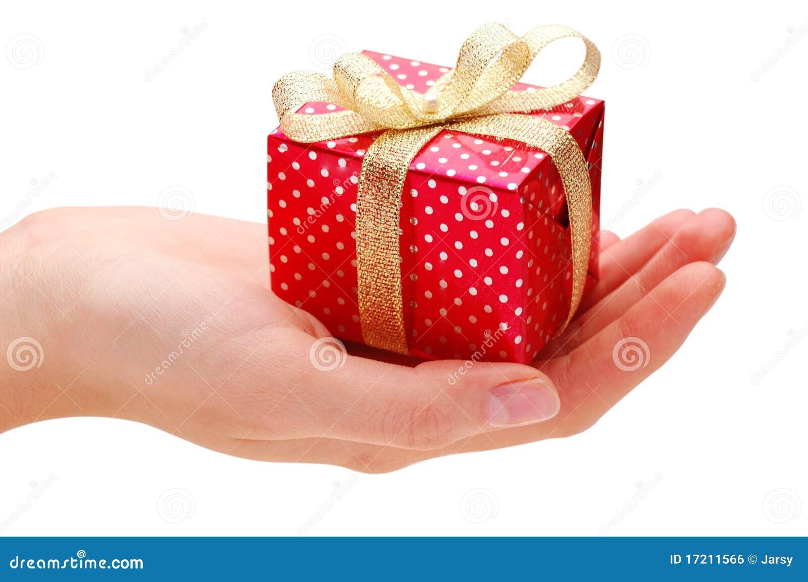 Hand en gift