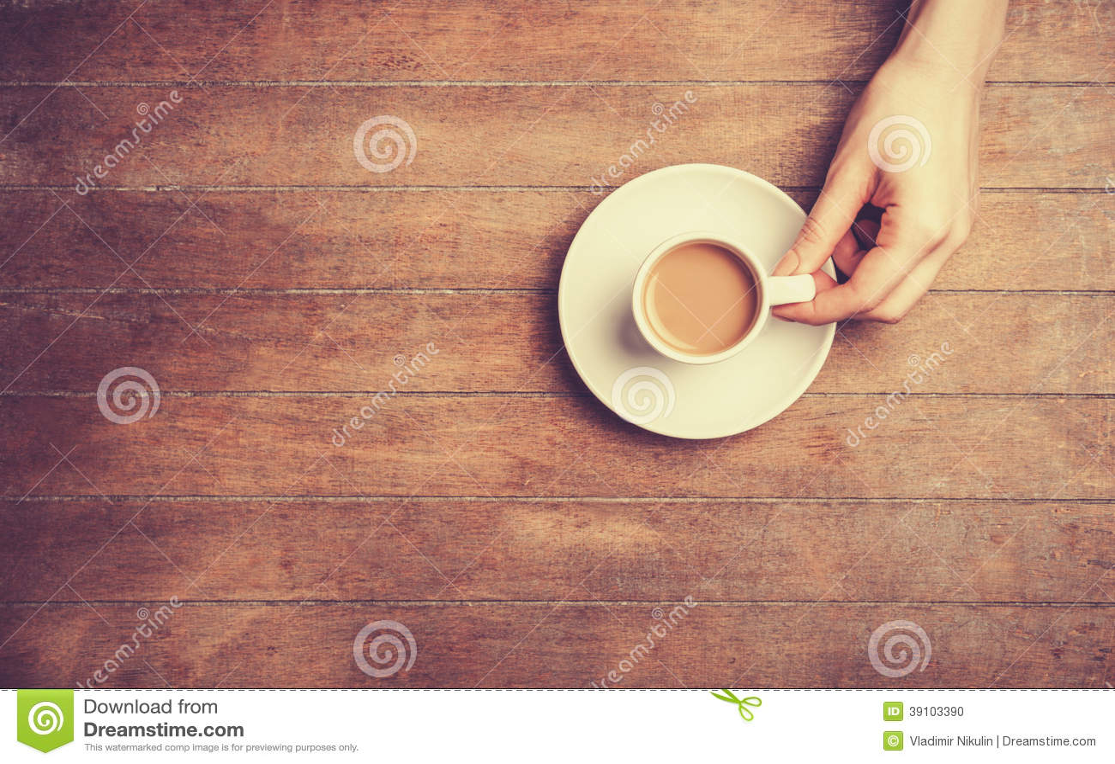 Hand en kop