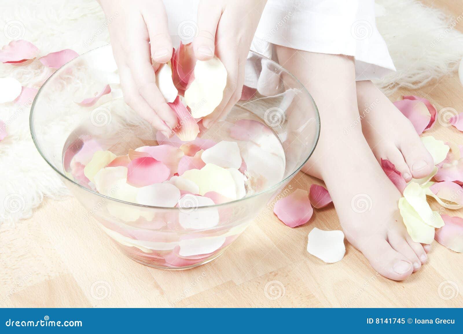 hand and feet spa