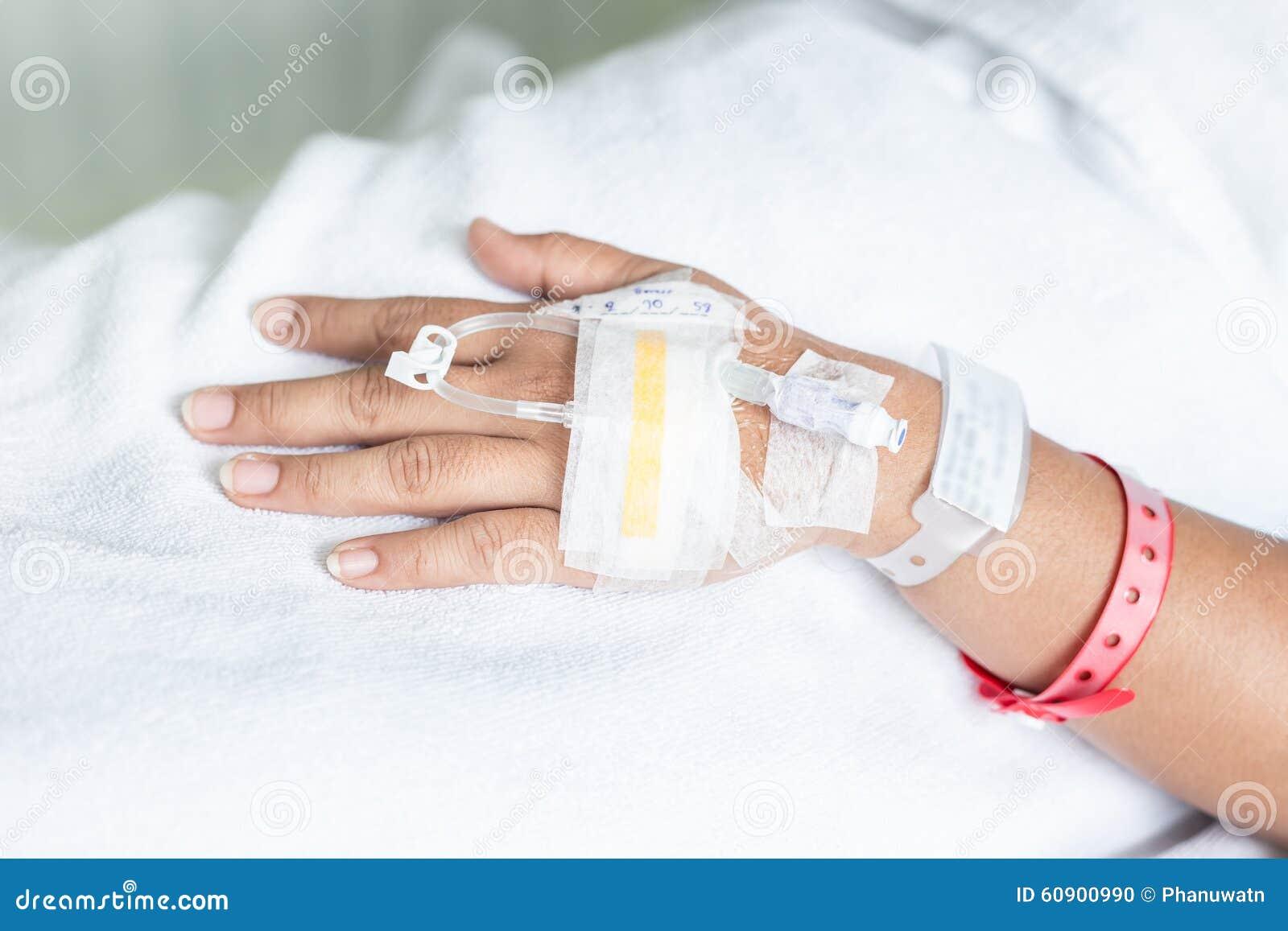 Iv hook up hospital