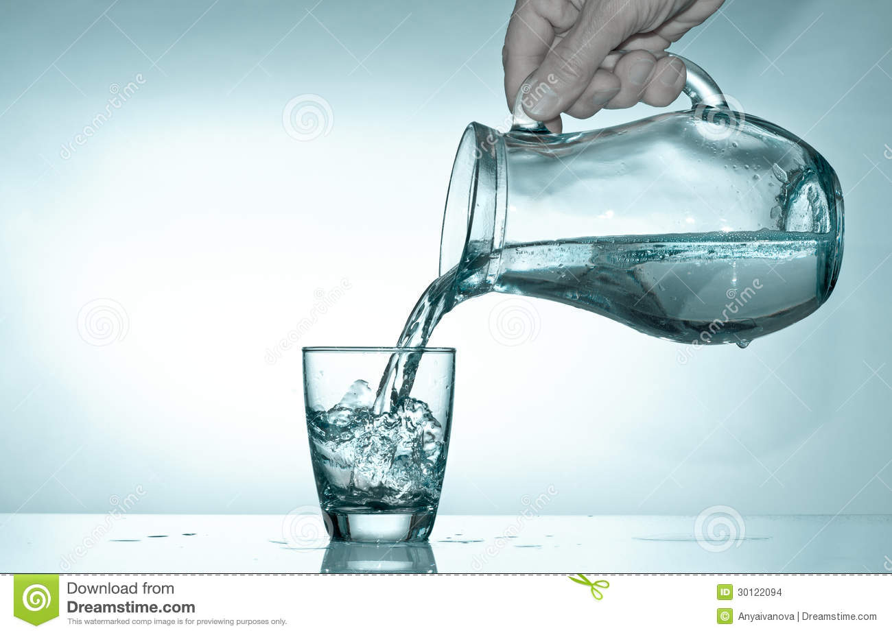 Fill Water In Glass From Tap