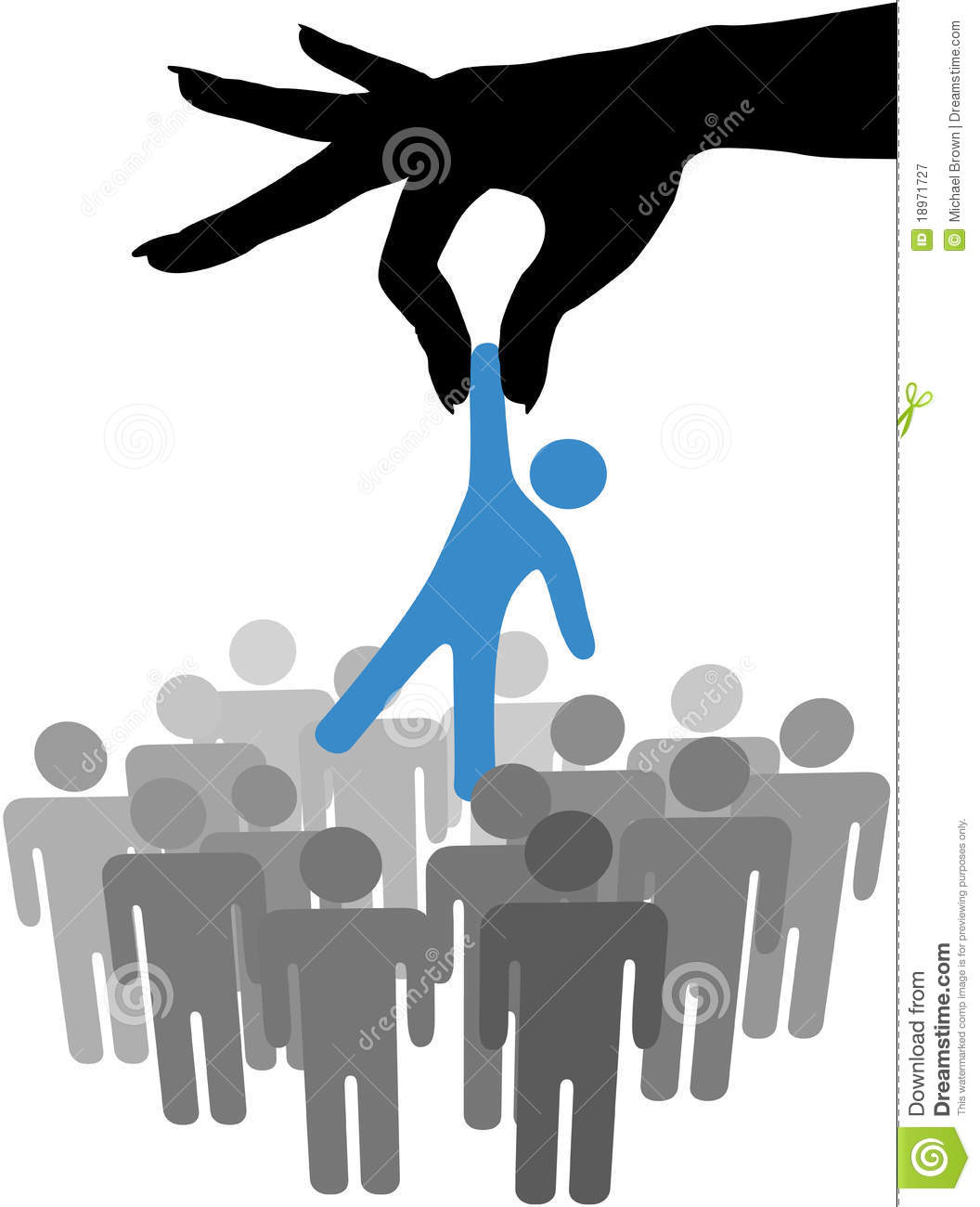 hand find select person in people group stock vector raise hand clipart black and white raise your hand clipart black and white