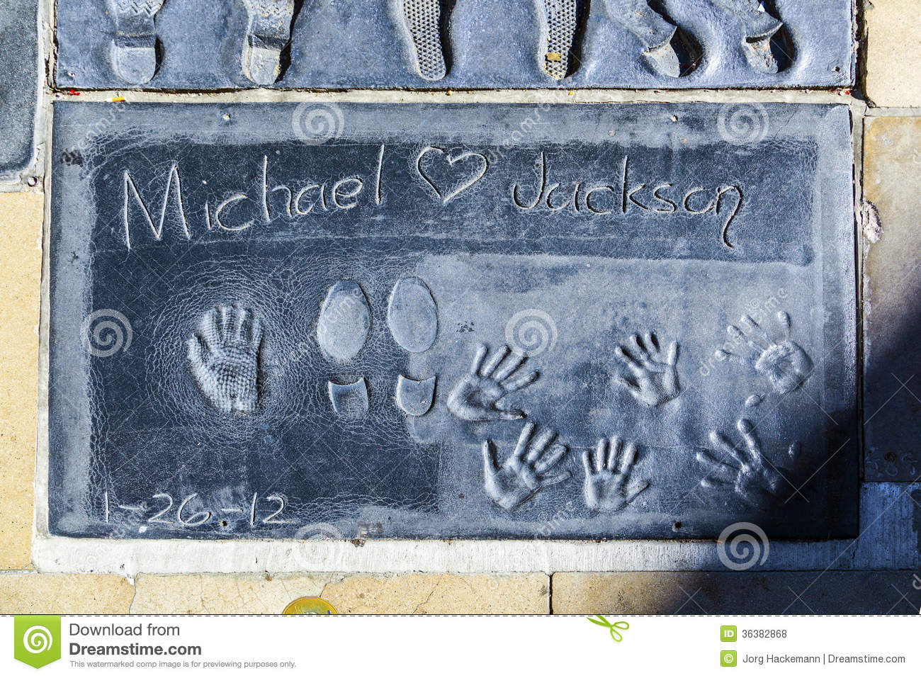 Footprints and Handprints of Hollywood Stars and - Yelp